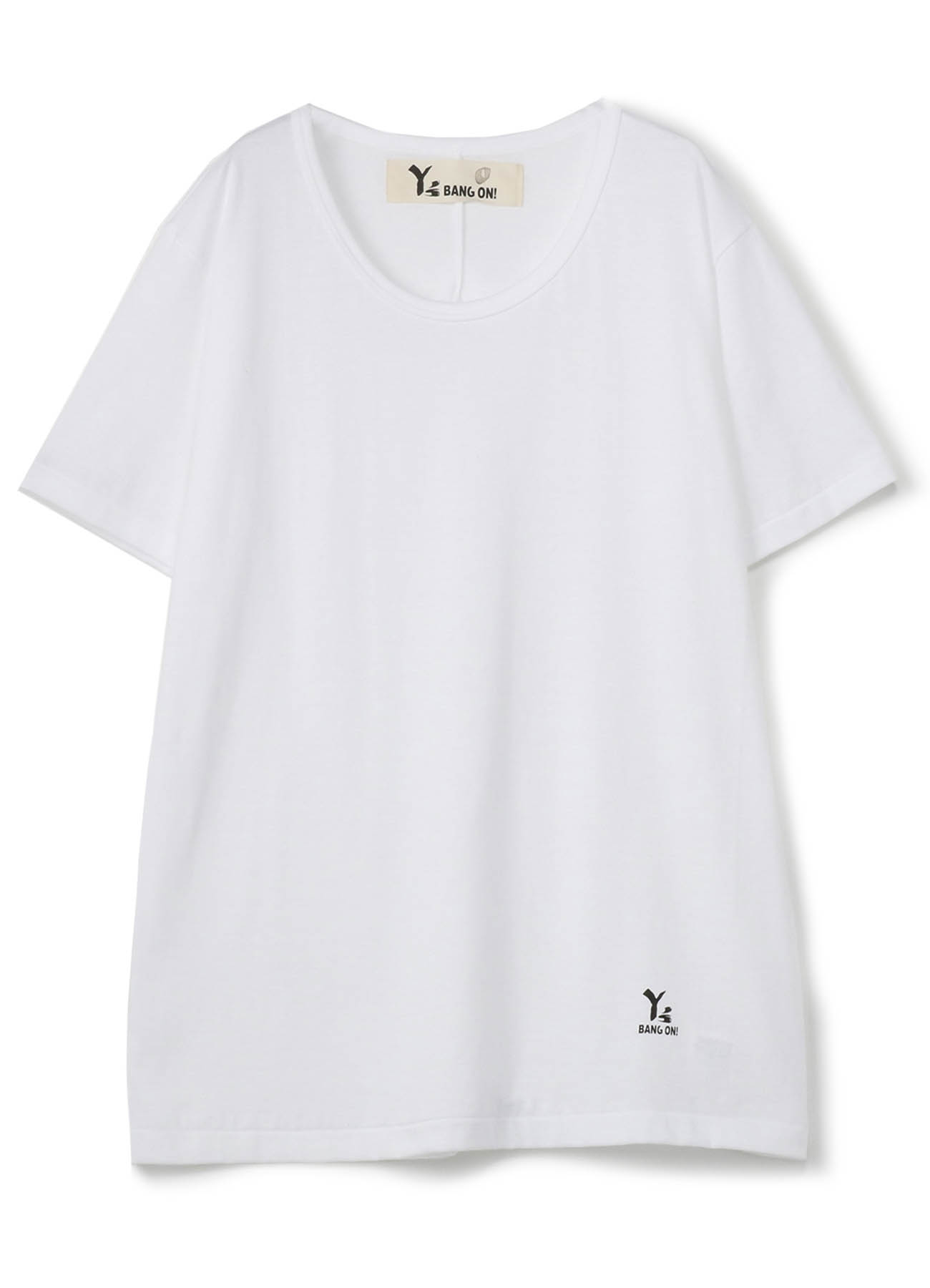 BANG ON! Uネック半袖Tシャツ