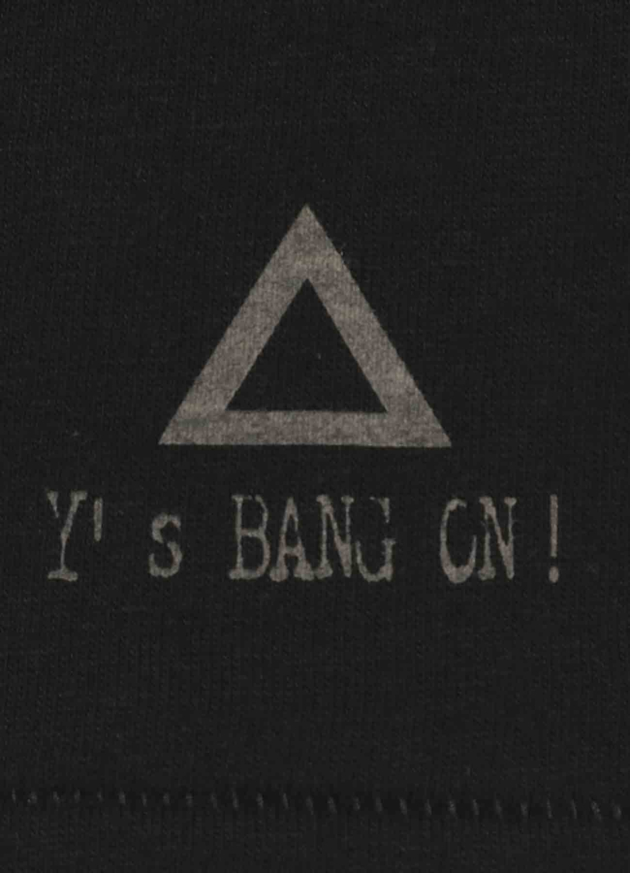 BANG ON!ハザードプリントTシャツ