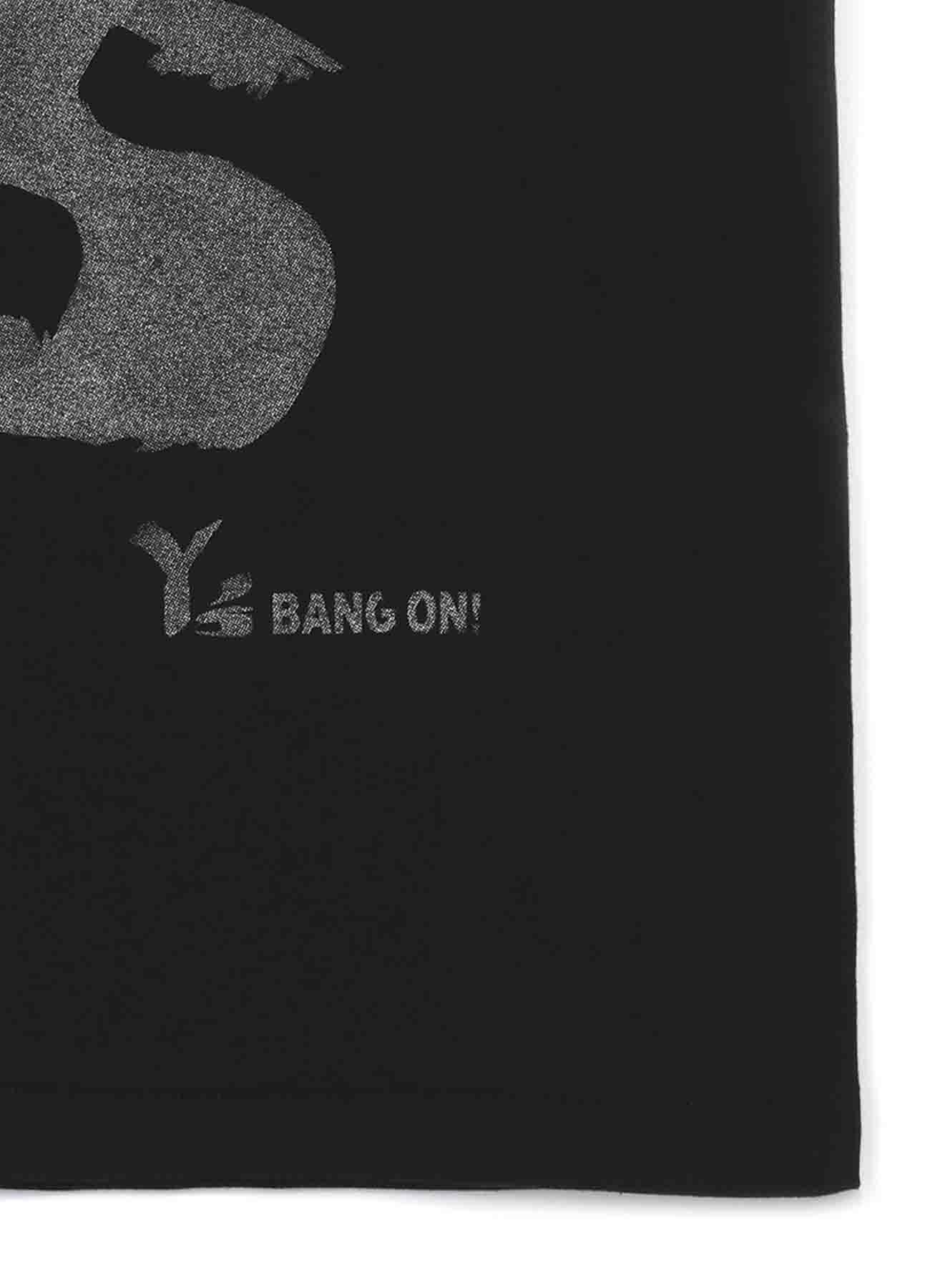 Y's BANG ON! デカロゴTシャツ シルバー
