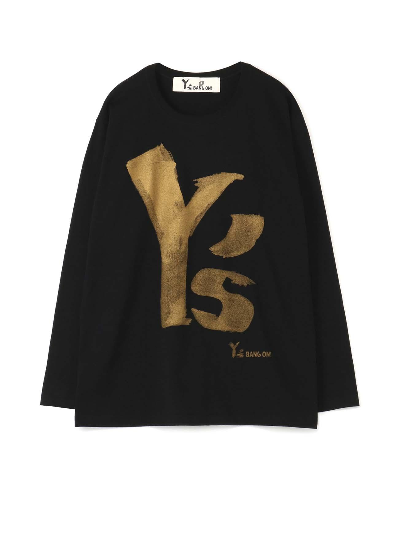 Y's BANG ON!金色LOGOT恤