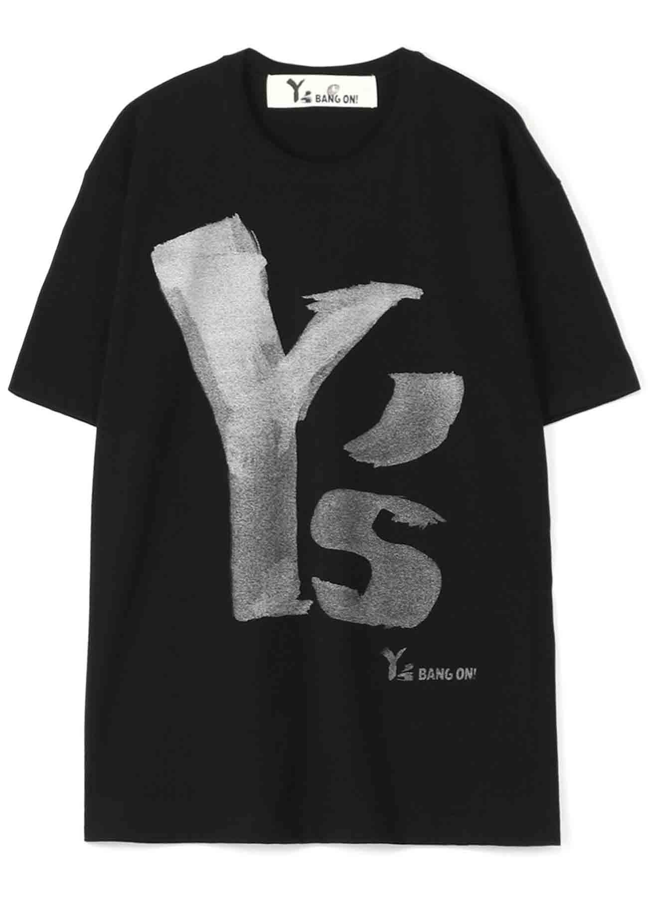 Y's BANG ON!デカロゴTシャツ シルバー半袖