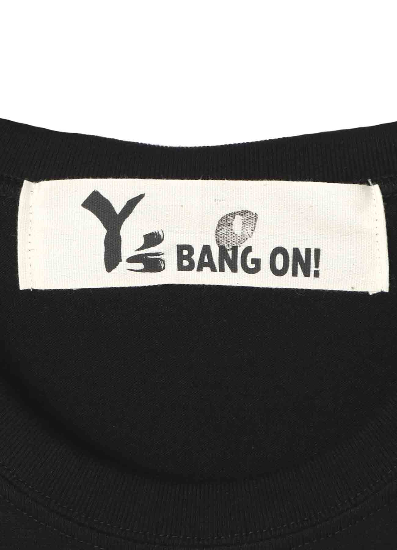 Y's BANG ON!Deca-LOGO T恤金色短袖