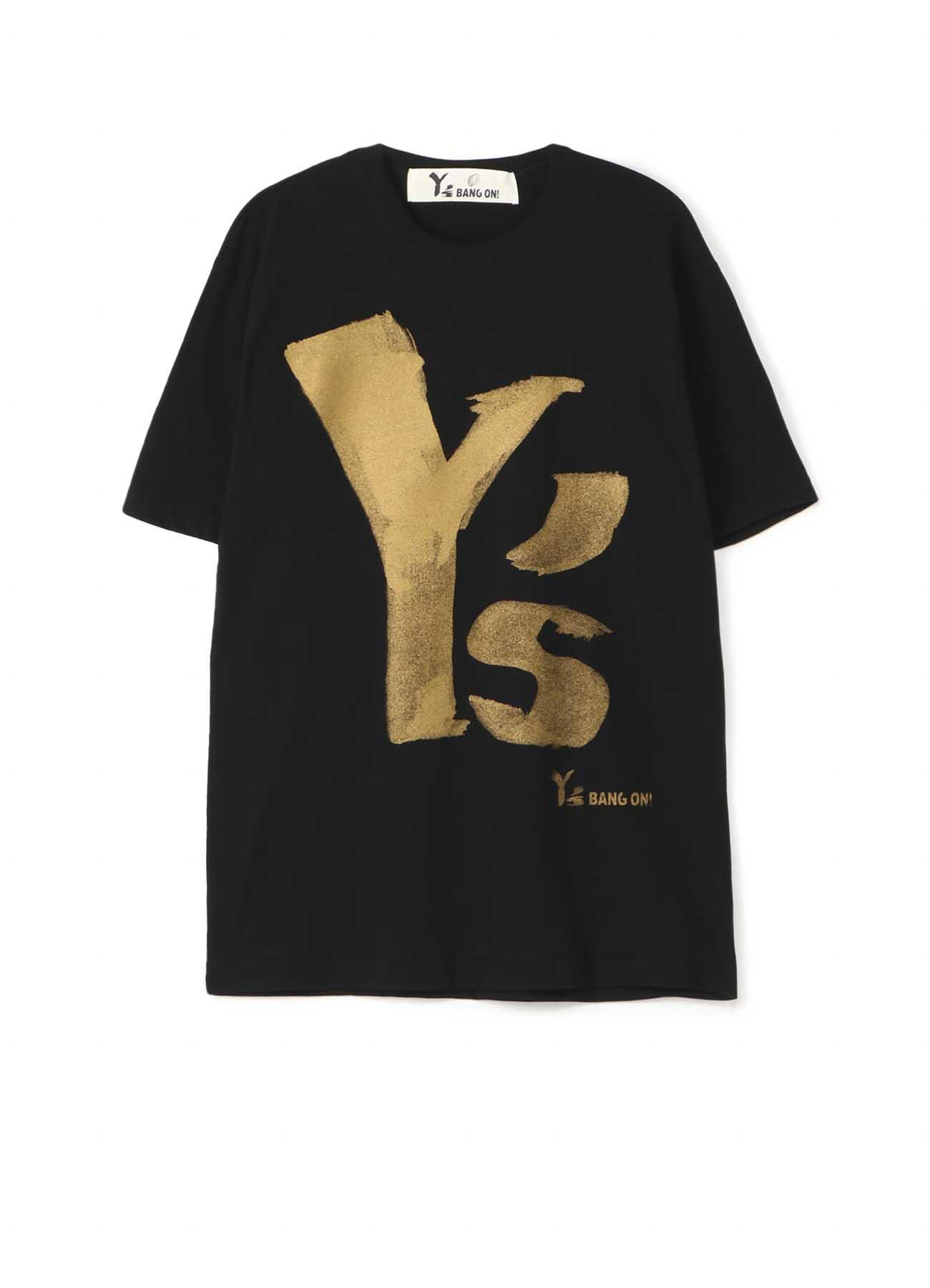 Y's BANG ON!デカロゴTシャツ ゴールド半袖