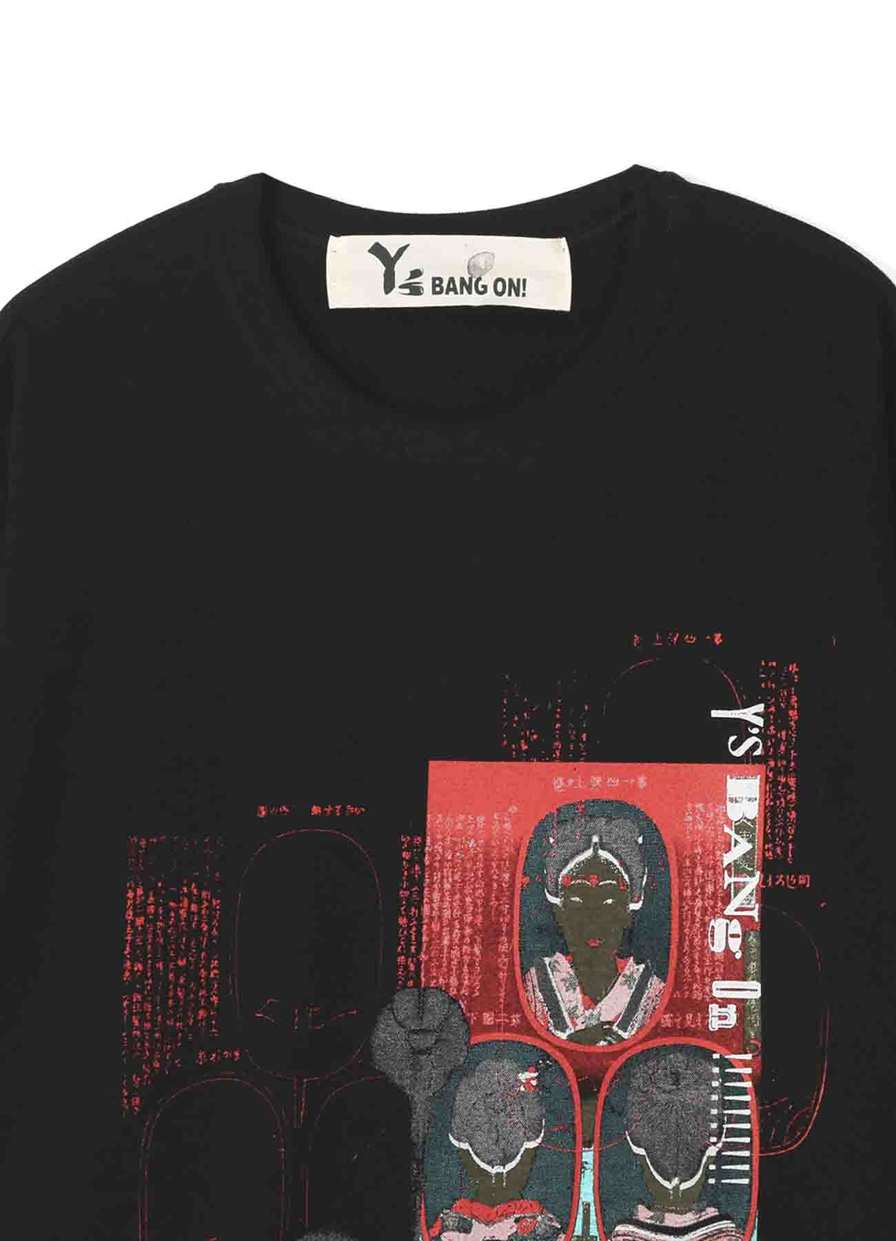 Y's BANG ON!錦絵「髪型」T-Shirt