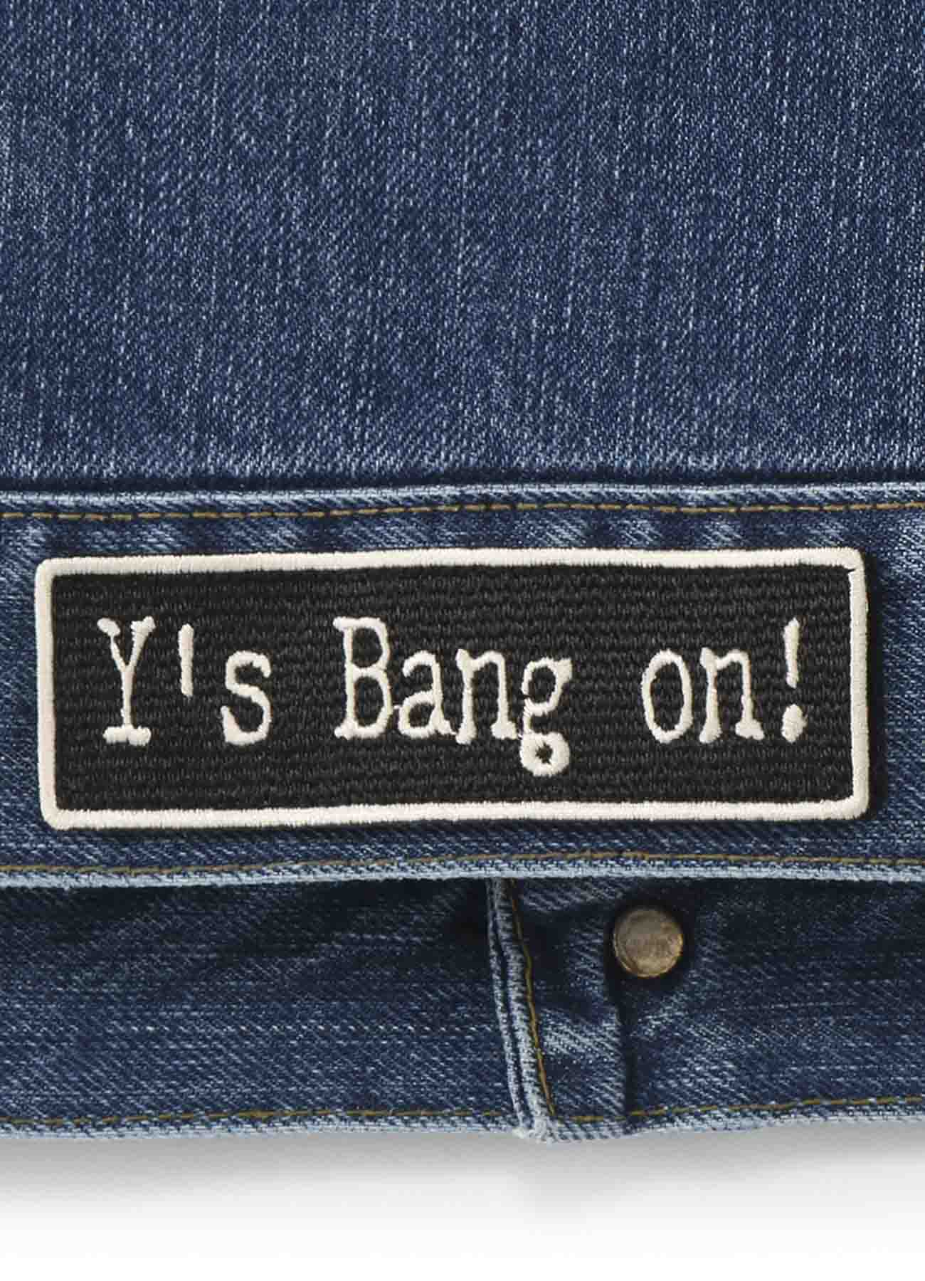 Y's BANG ON!デニムGジャン