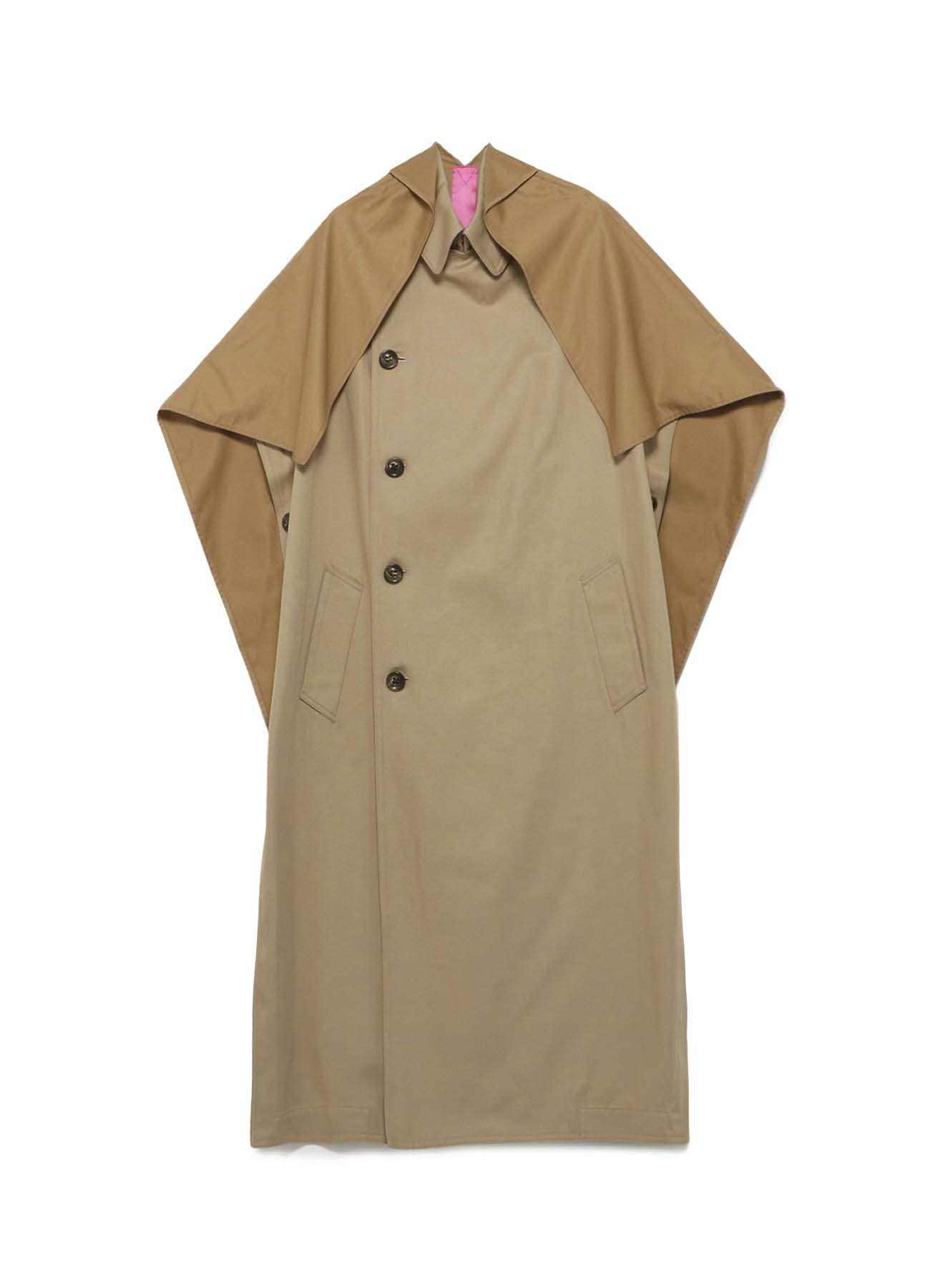 Y'sPINK BULGARIAN MILITARY CLOTH BINDING COAT