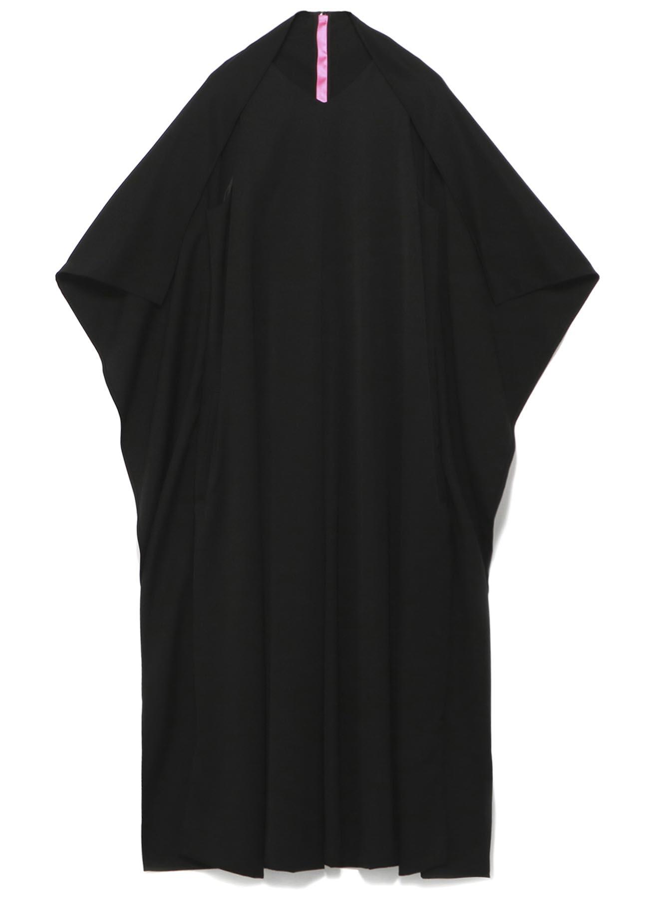 Y'sPINK TUXEDO CLOTH BINDING DRESS