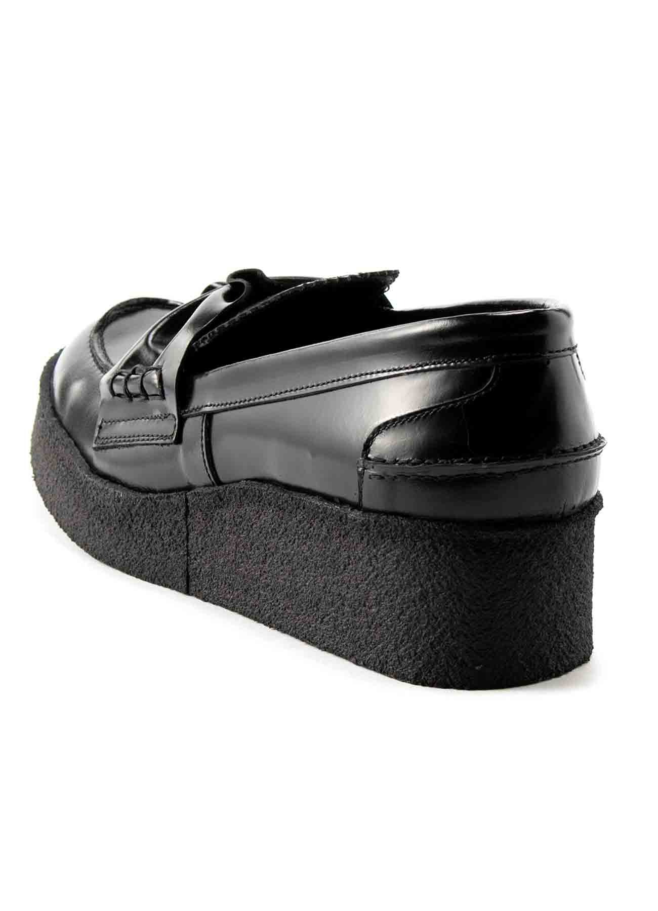 SOFT GLASS THICK SOLE LOAFER