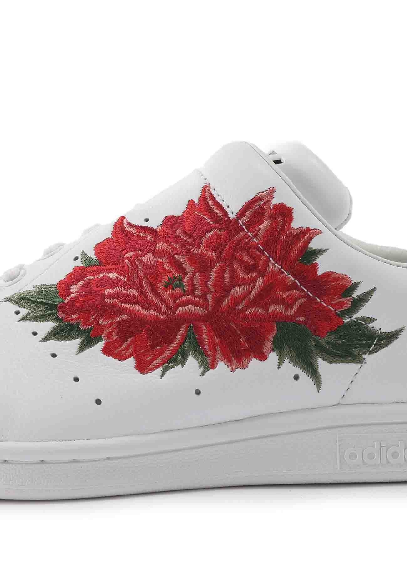 Y's x adidas Y's Diagonal Stan Smith Floral