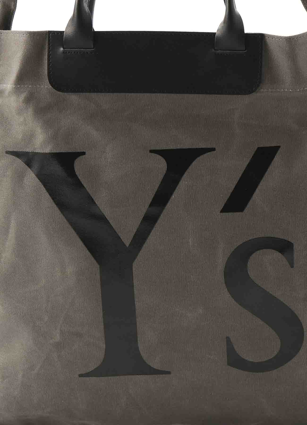 CANVAS Y'S LOGO BAG