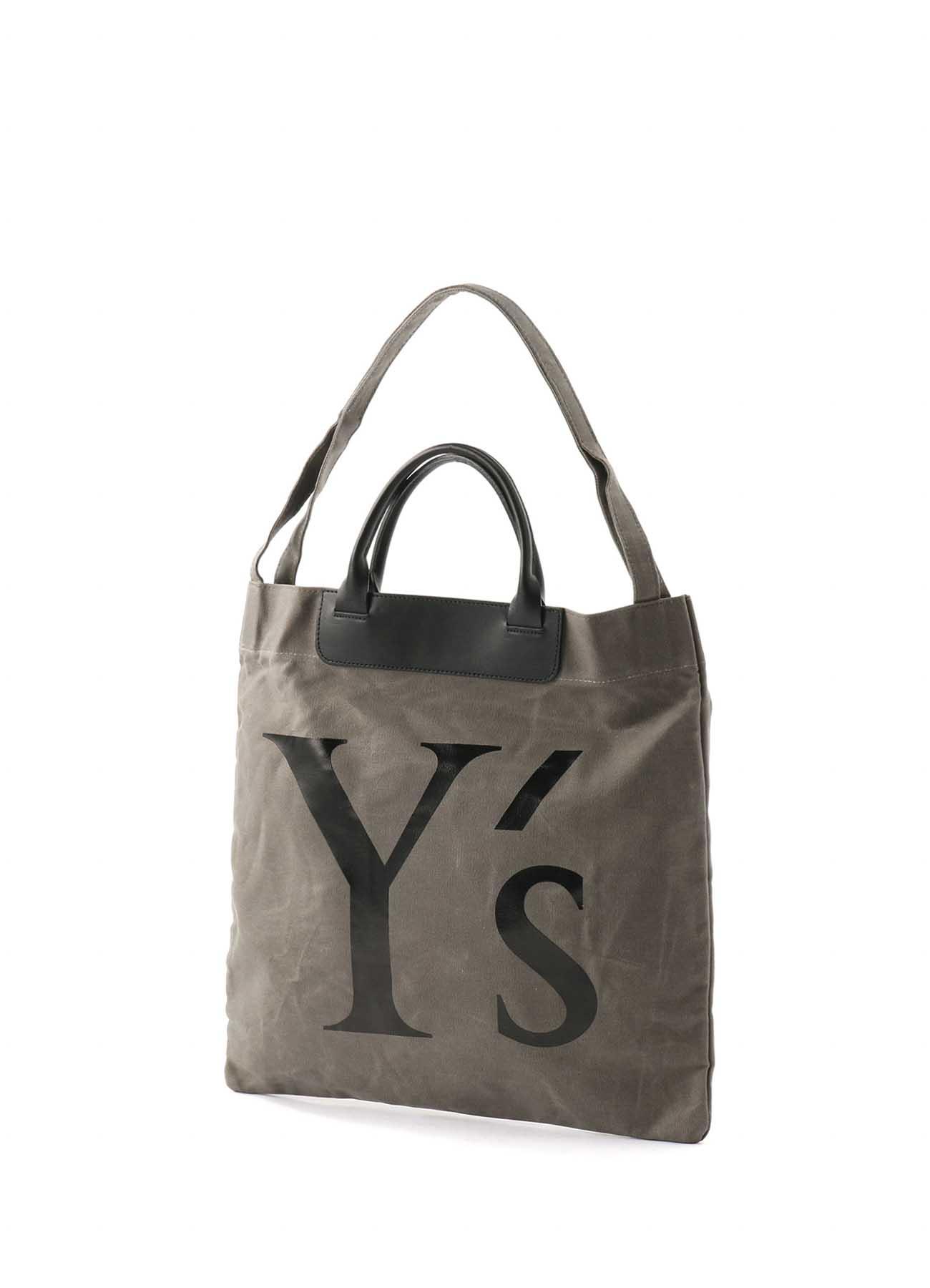 帆布Y徽标袋