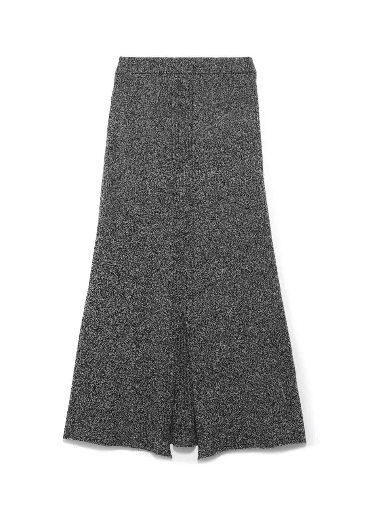 RISMATbyY's WASHABLE WOOL CENTER RIB FLARE SKIRT