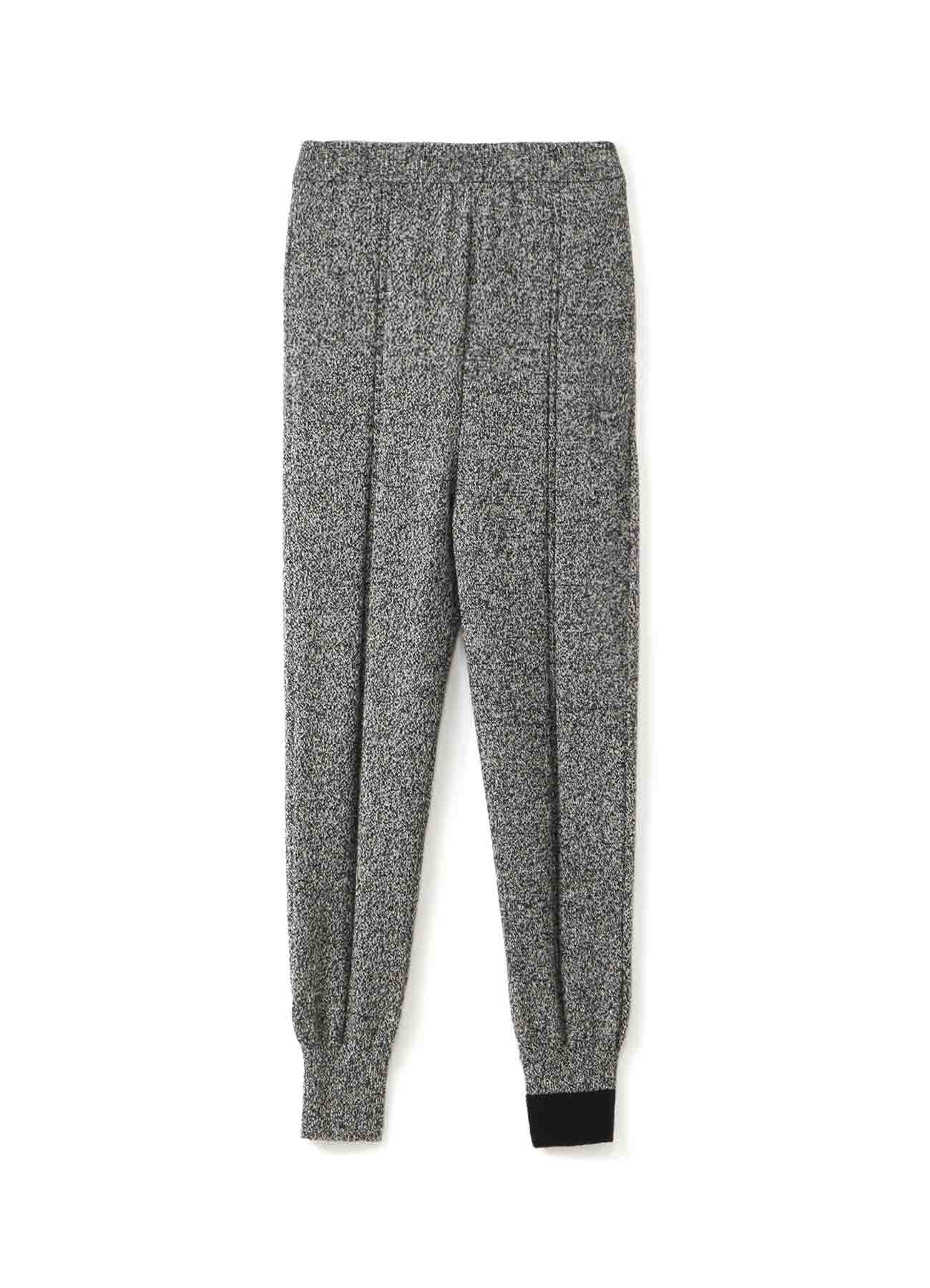 RISMATbyY's WASHABLE WOOL CENTER RIB PANTS