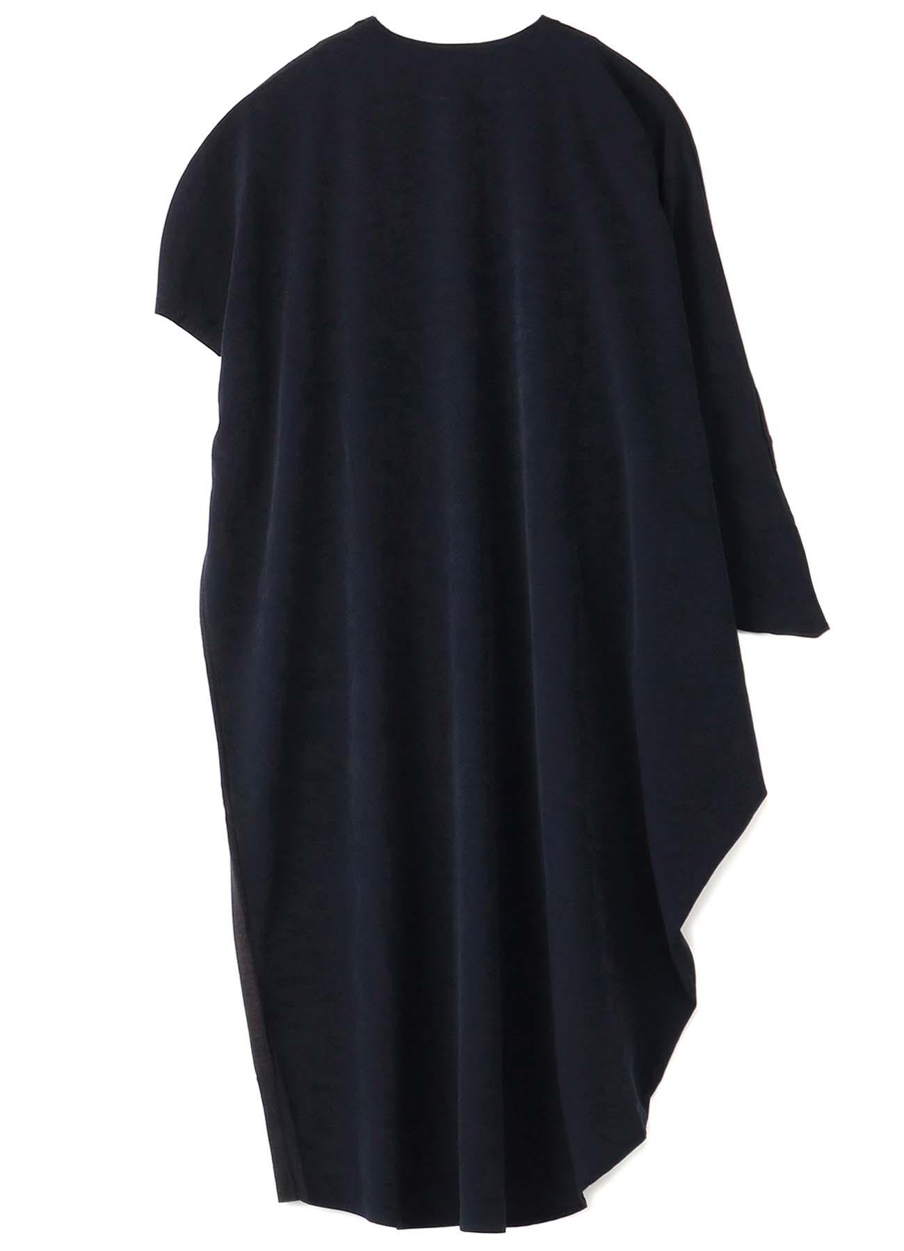 RISMATbyY's DESIGNED SLEEVE ASYMMETRICAL DRESS