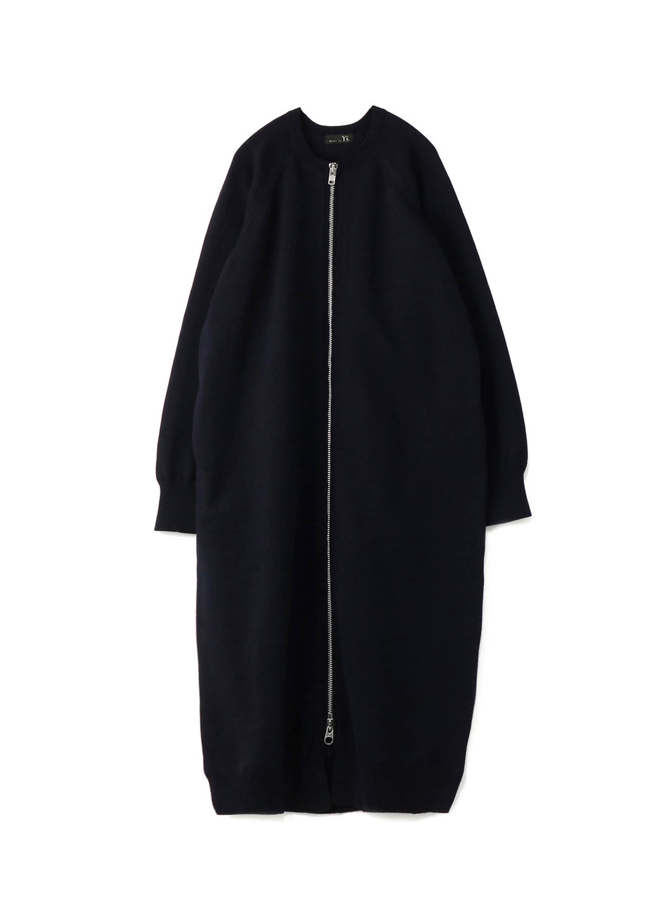 RISMATbyY's POLYESTER WOOL ZIP COAT