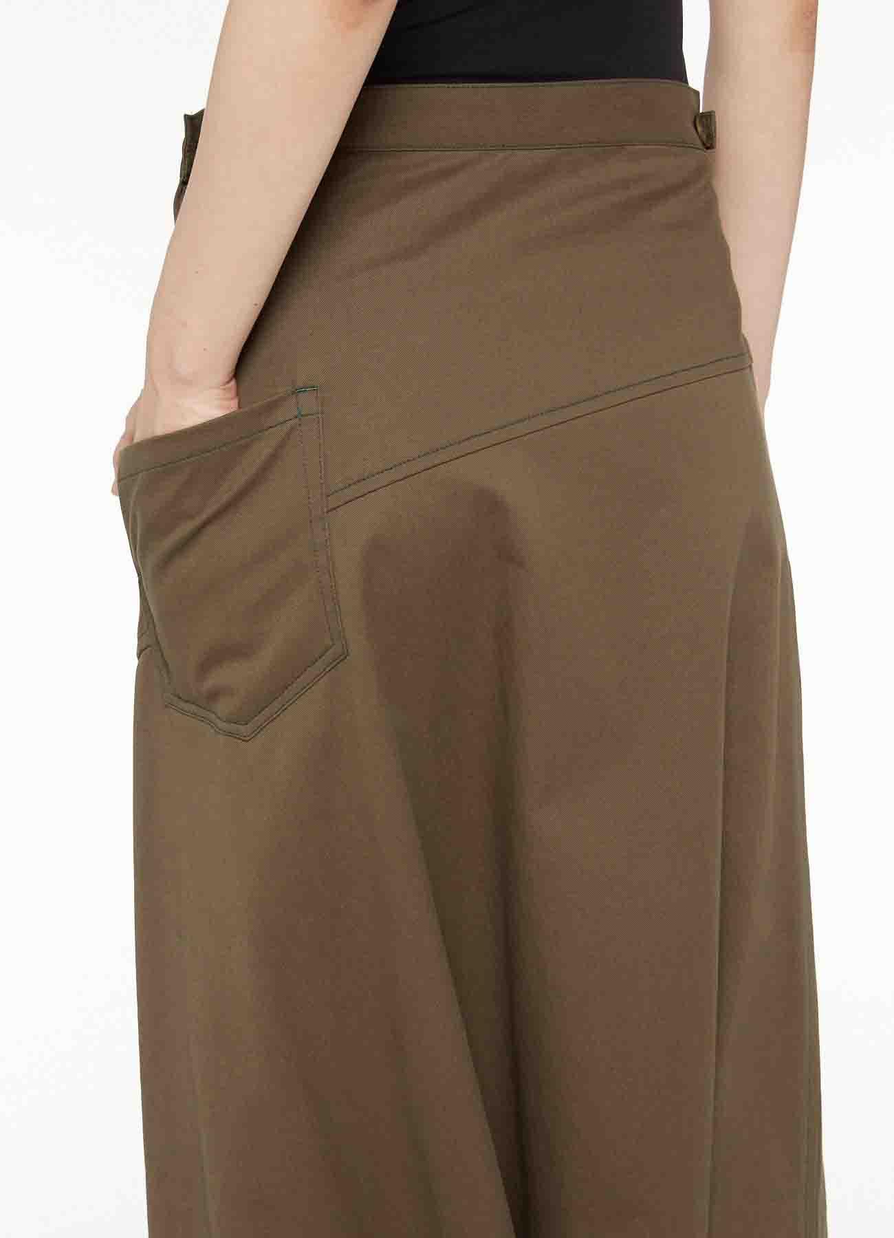 SOFT CHINO CLOTH DESINED SAROUEL PANTS