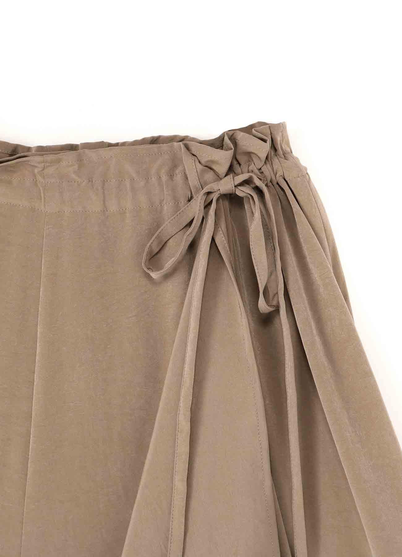 DECYN SLIT GATHER PANTS