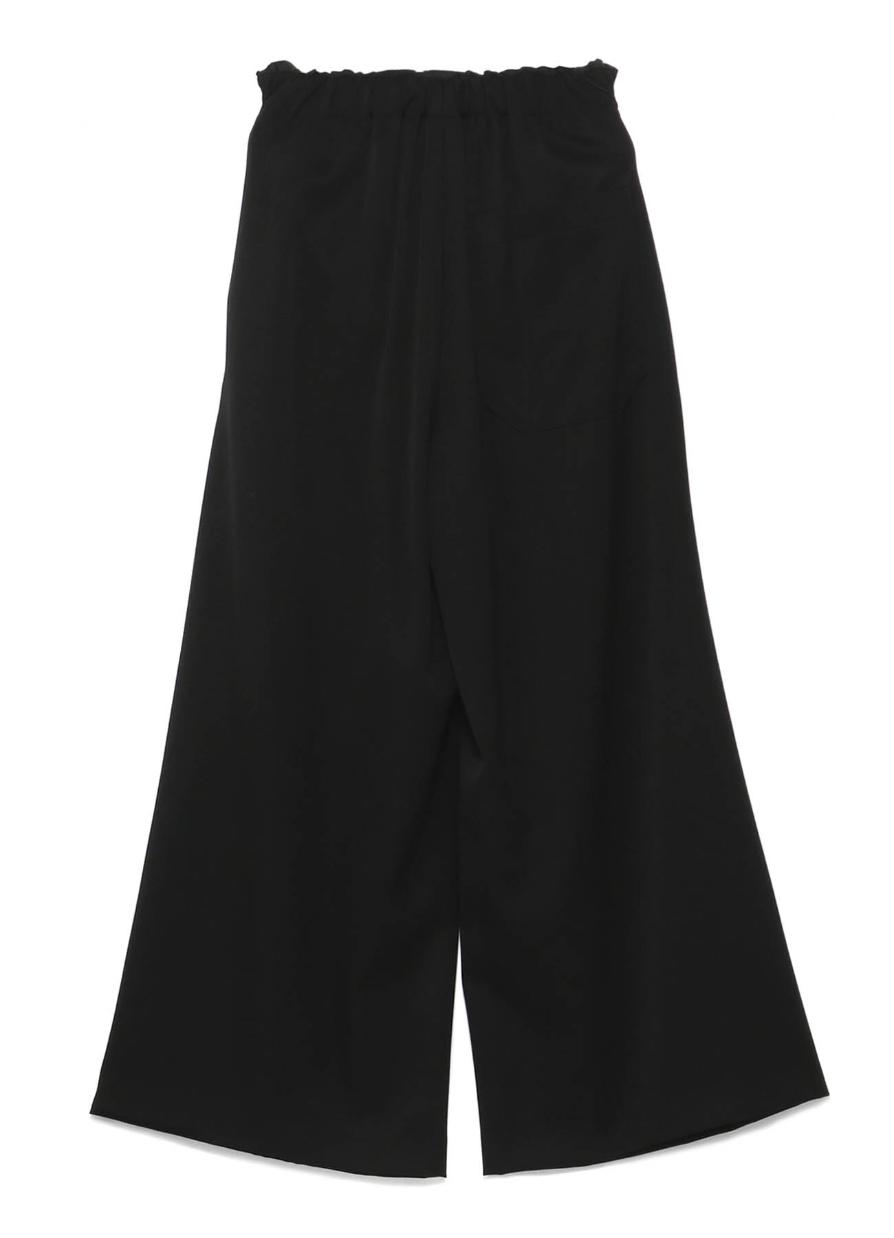 Y'sPINK TUXEDO CLOTH DOUBLE WAIST PANTS