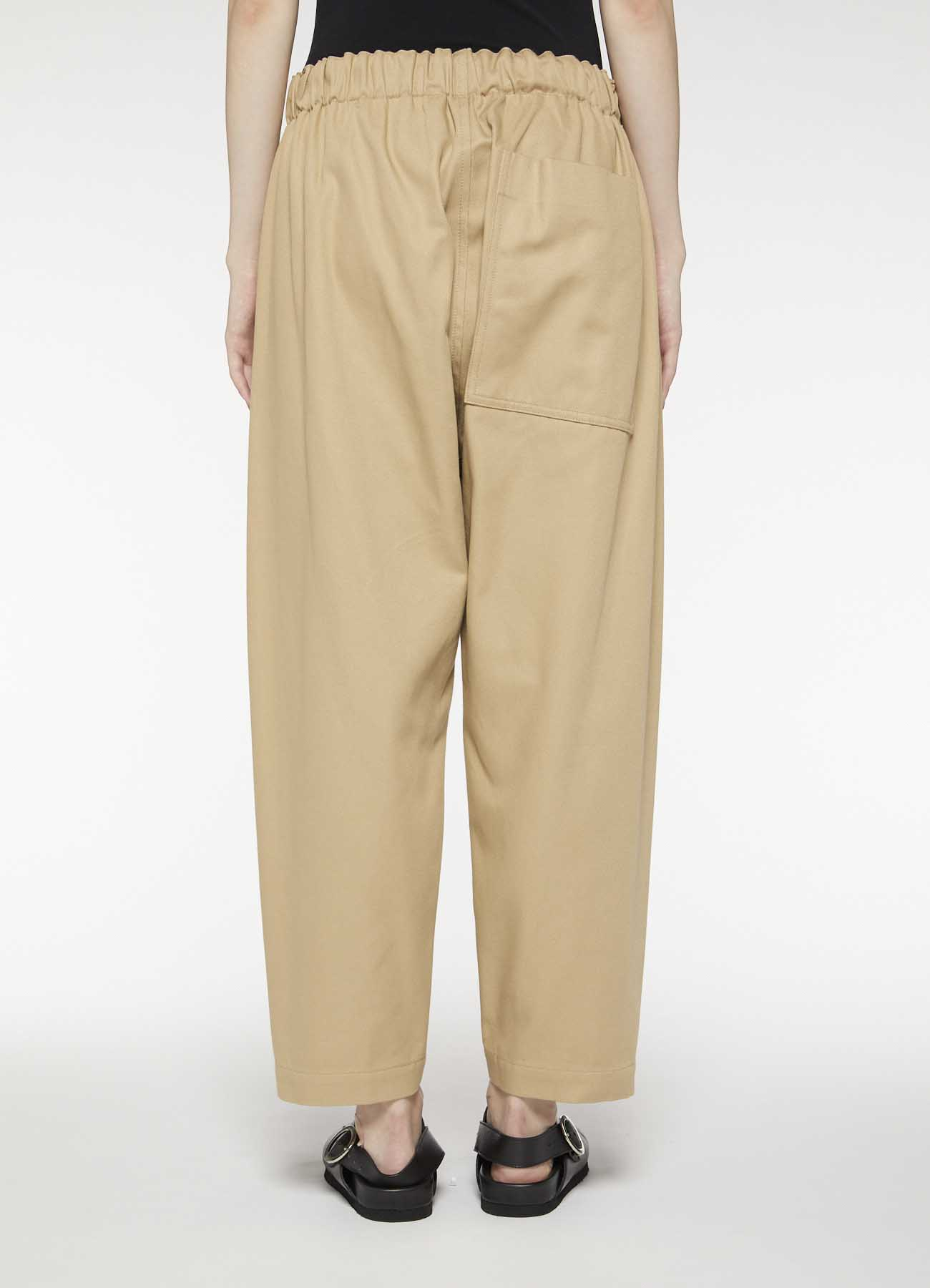 Y'sPINK BULGARIAN MILITARY CLOTH POCKET PANTS