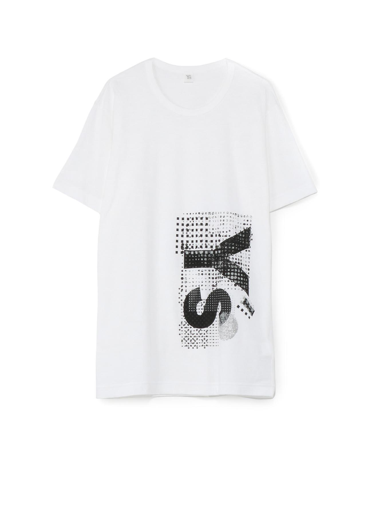 棉质拼贴印花T恤