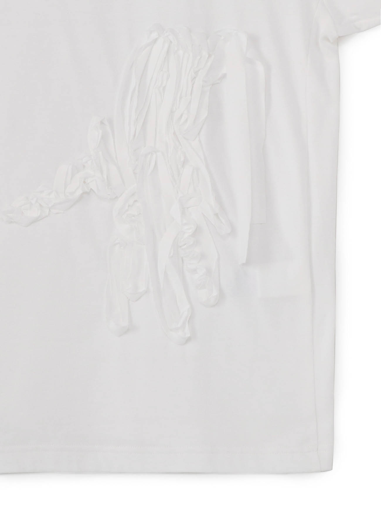 CORD EMBROIDERY BOAT NECK BIG T-SHIRT