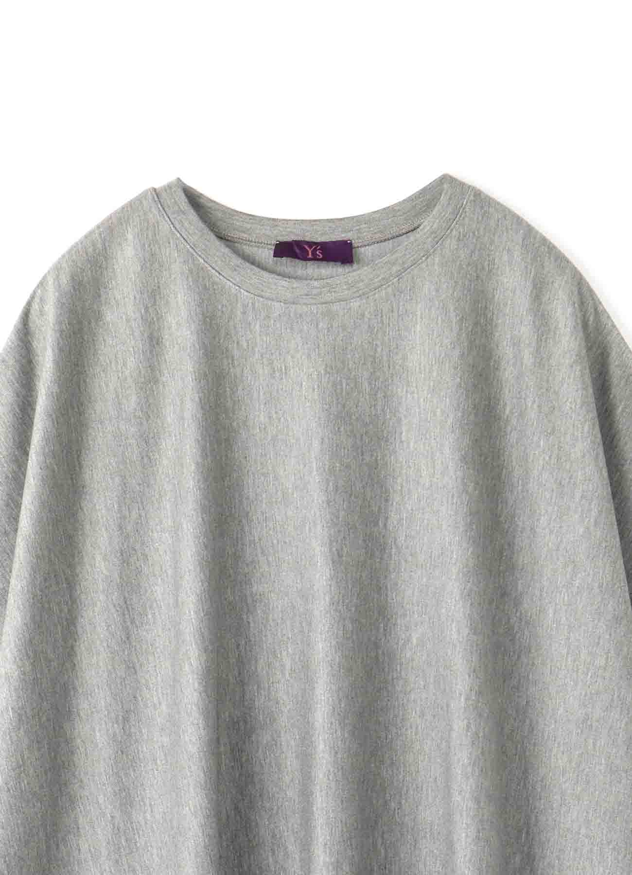 Y'sPINK DELAVIS PUNCH SCALLOP EMBROIDERY BIG T-SHIRT