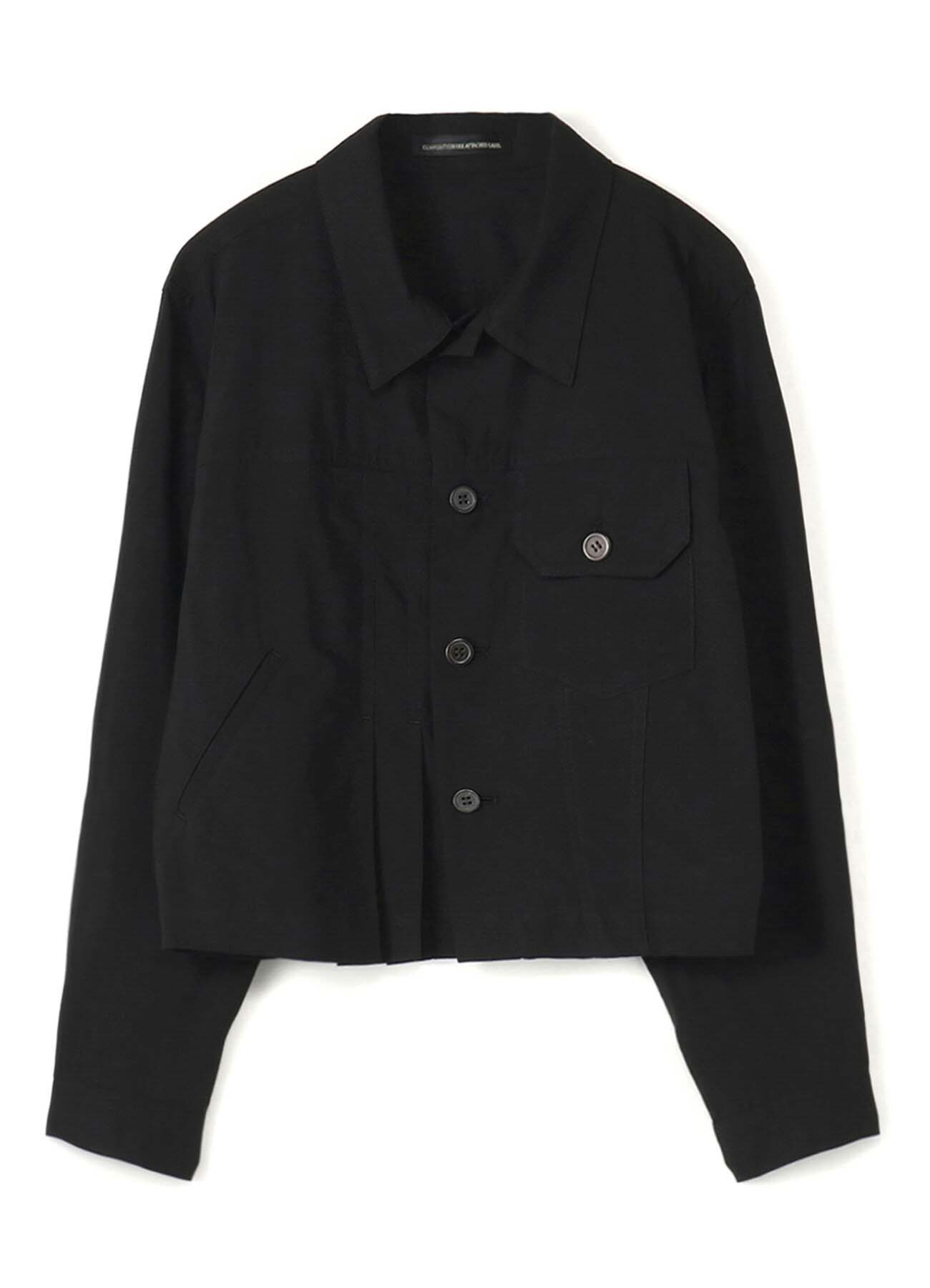 COTTON ASYMMETRICAL JACKET