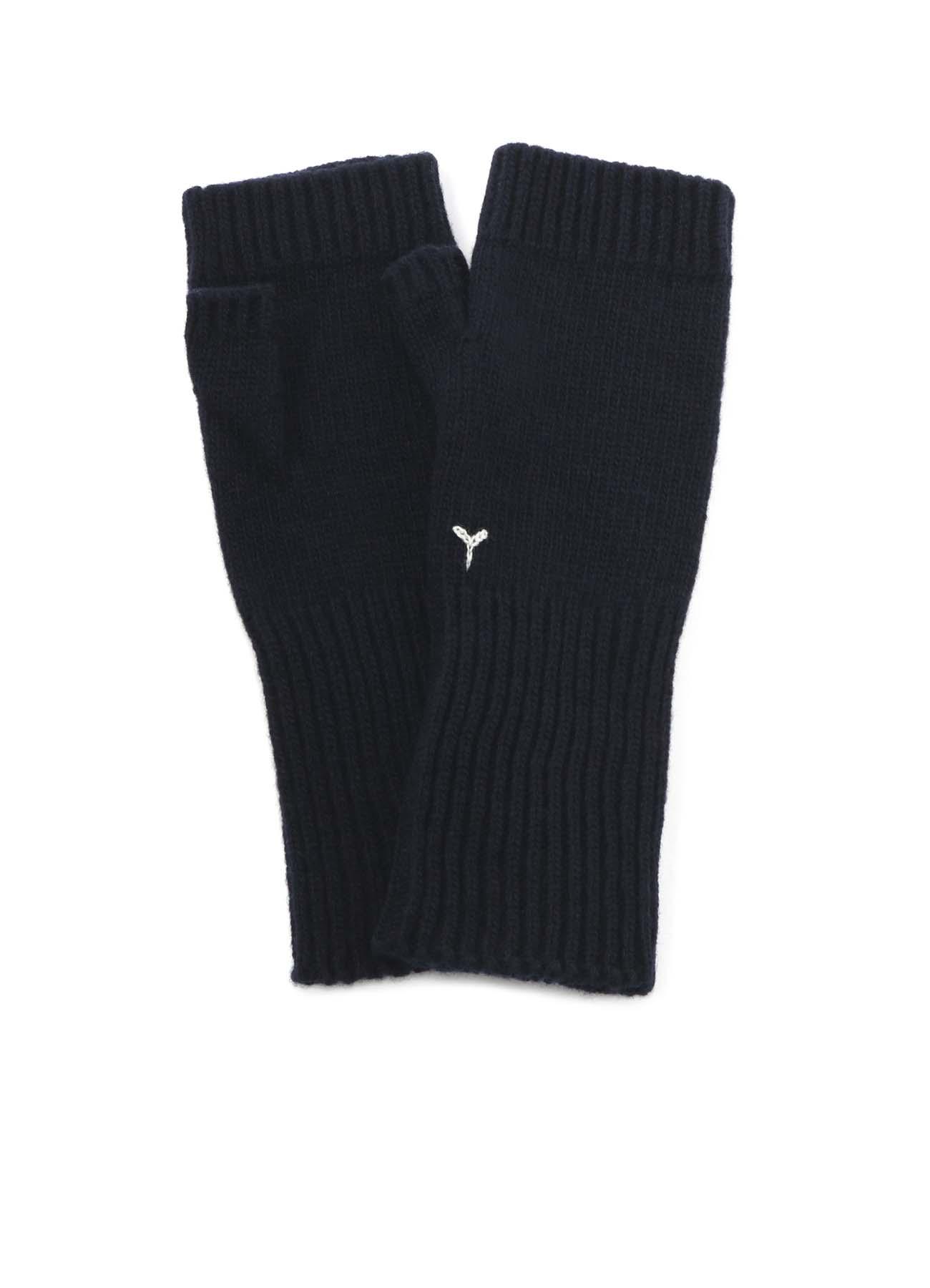 ラムウール 指なし手袋