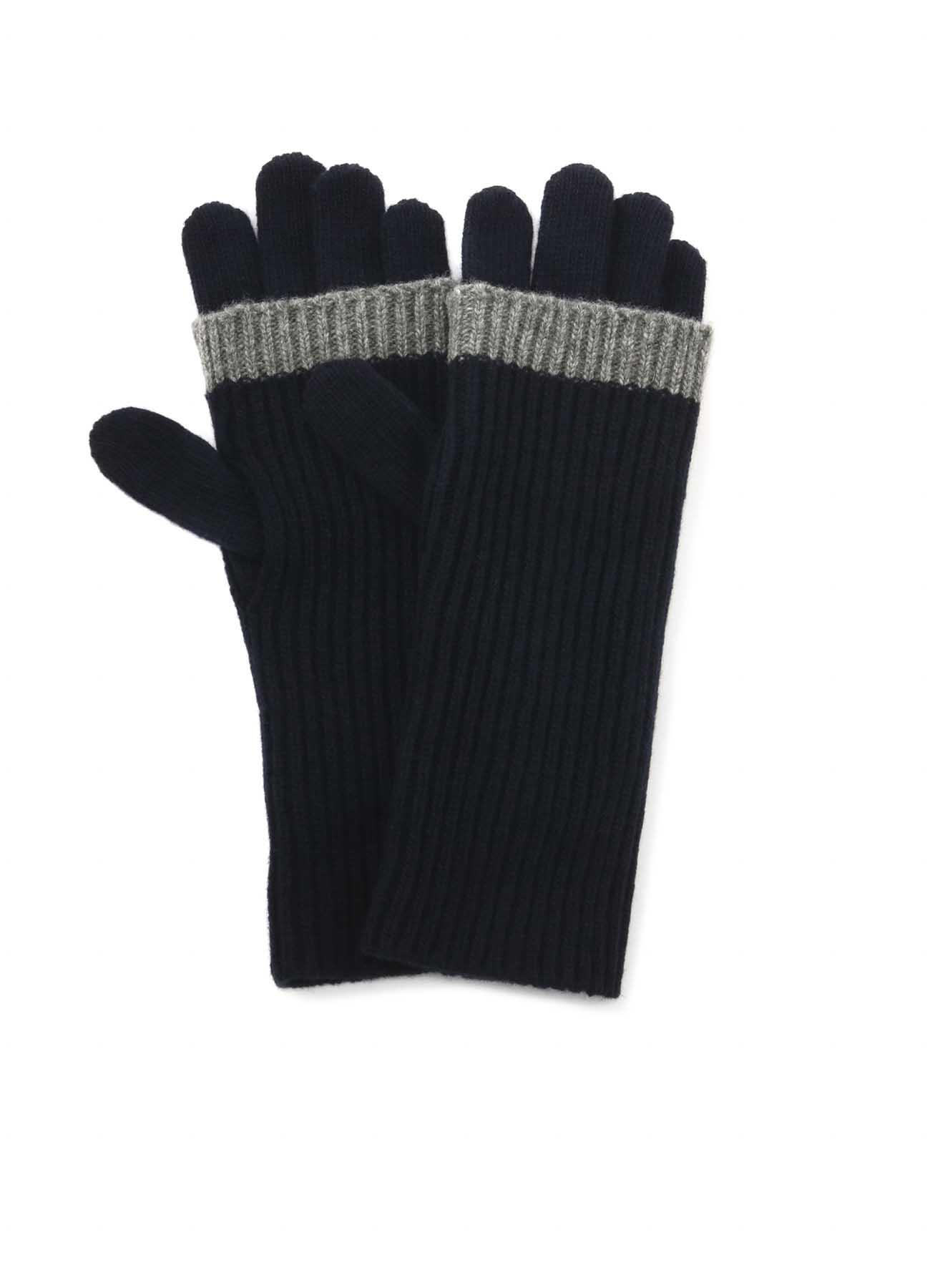 羊毛混纺 双重手套