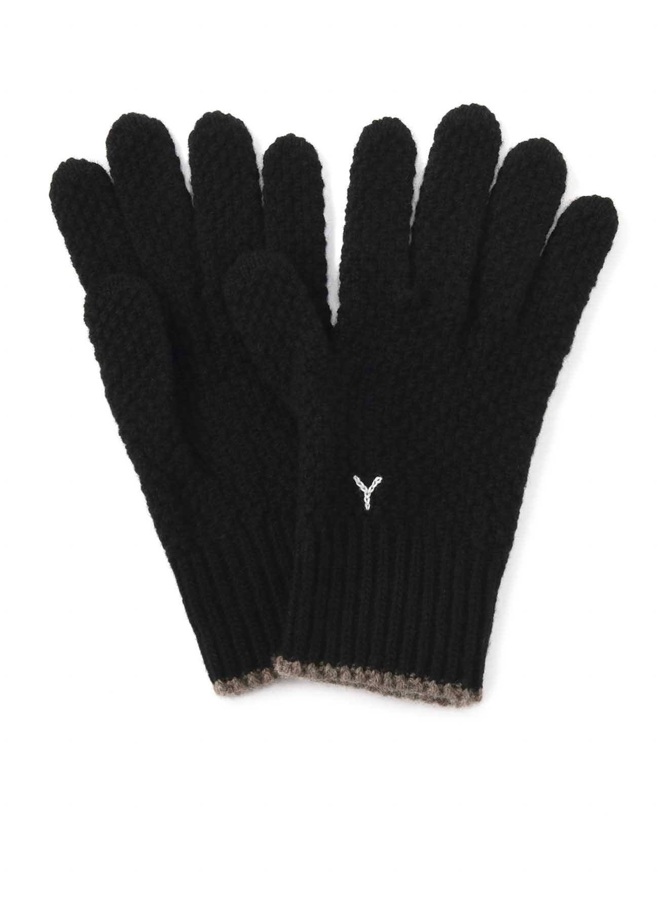 ラムウール かのこ手袋
