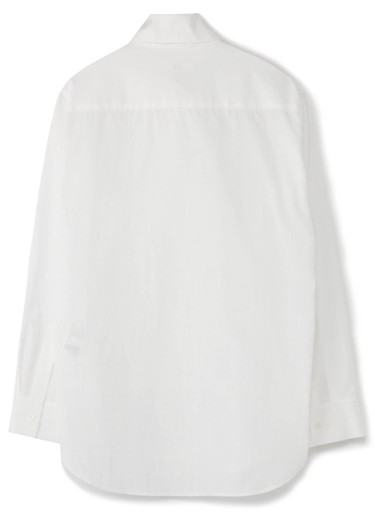 变化高领宽松衬衫