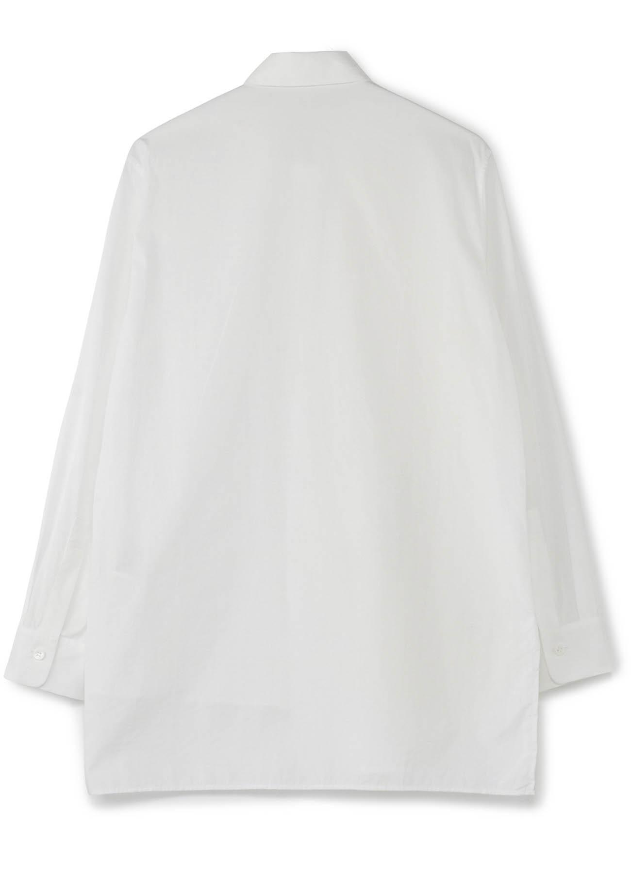 棉 × 羊毛 补丁风格衬衫1