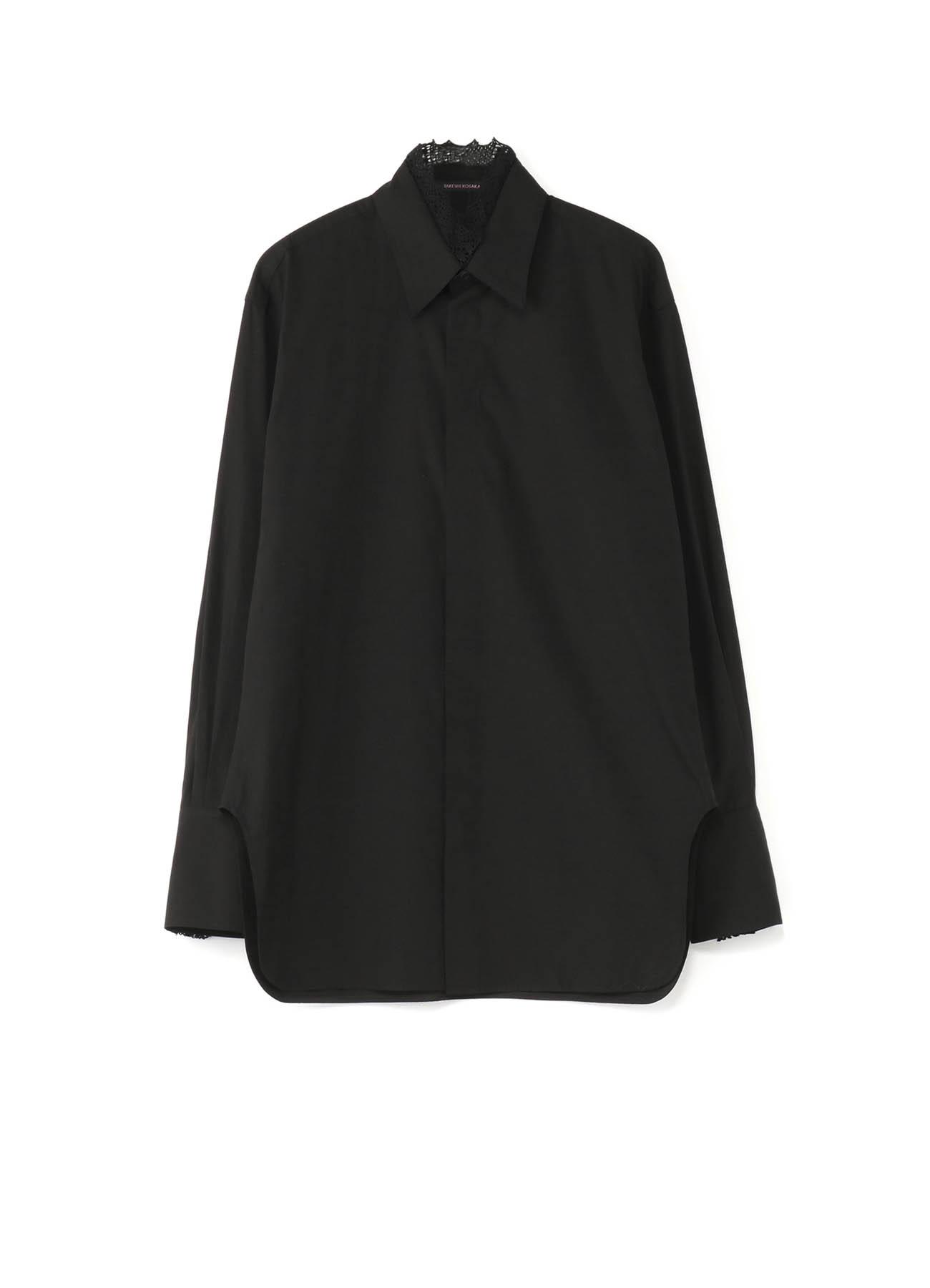 Y'sPINK 蕾丝装饰衬衫