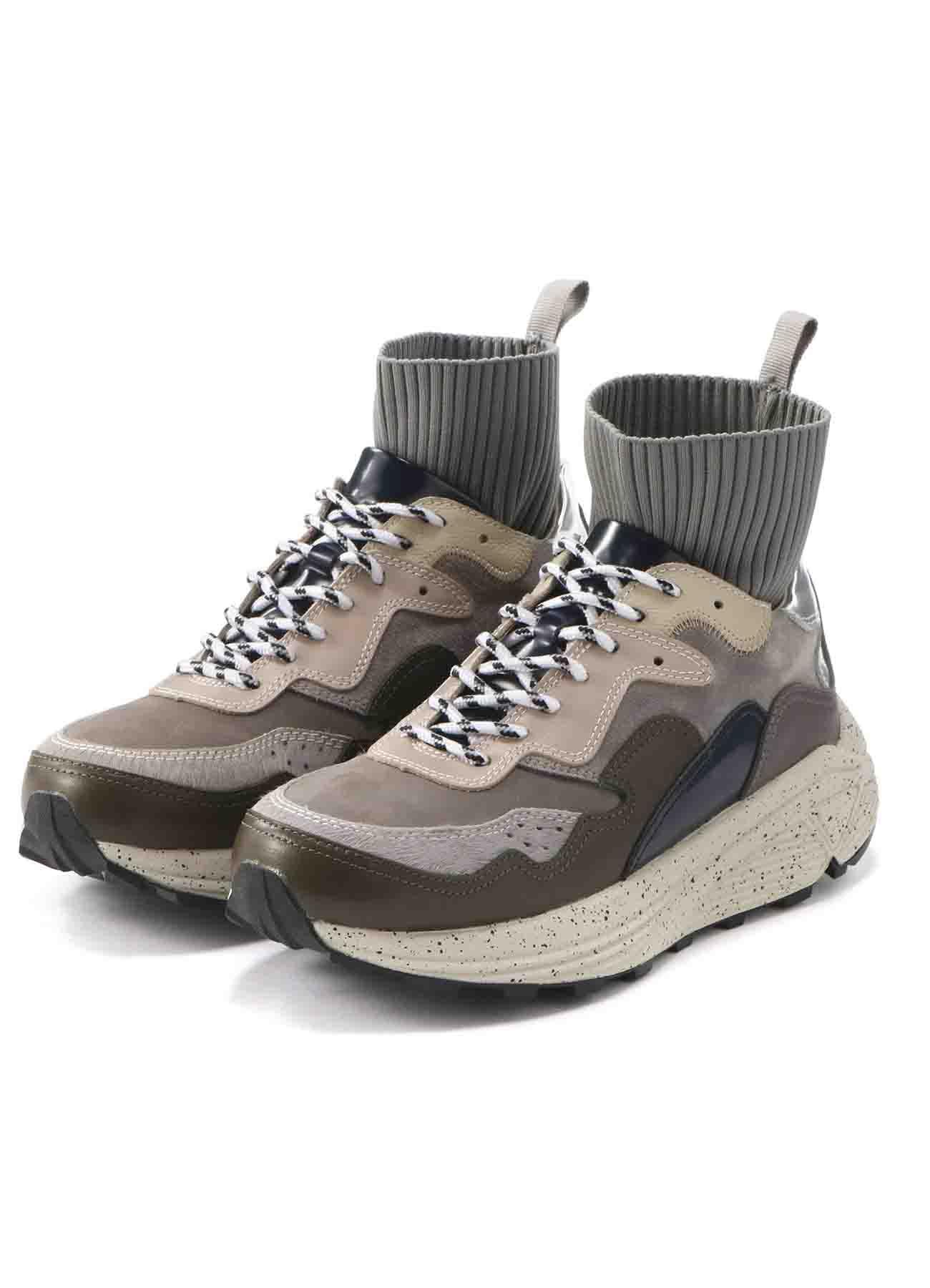 拼接多彩运动鞋