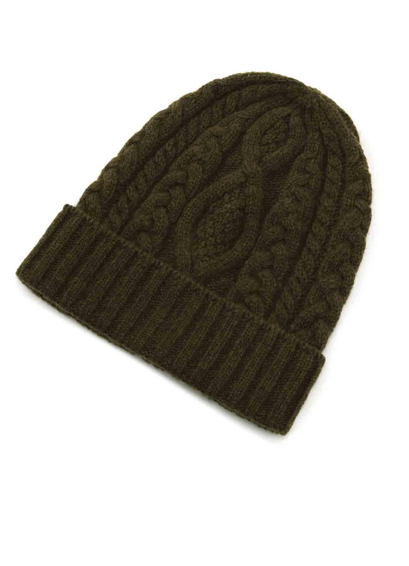 羊毛混纺编织毛帽