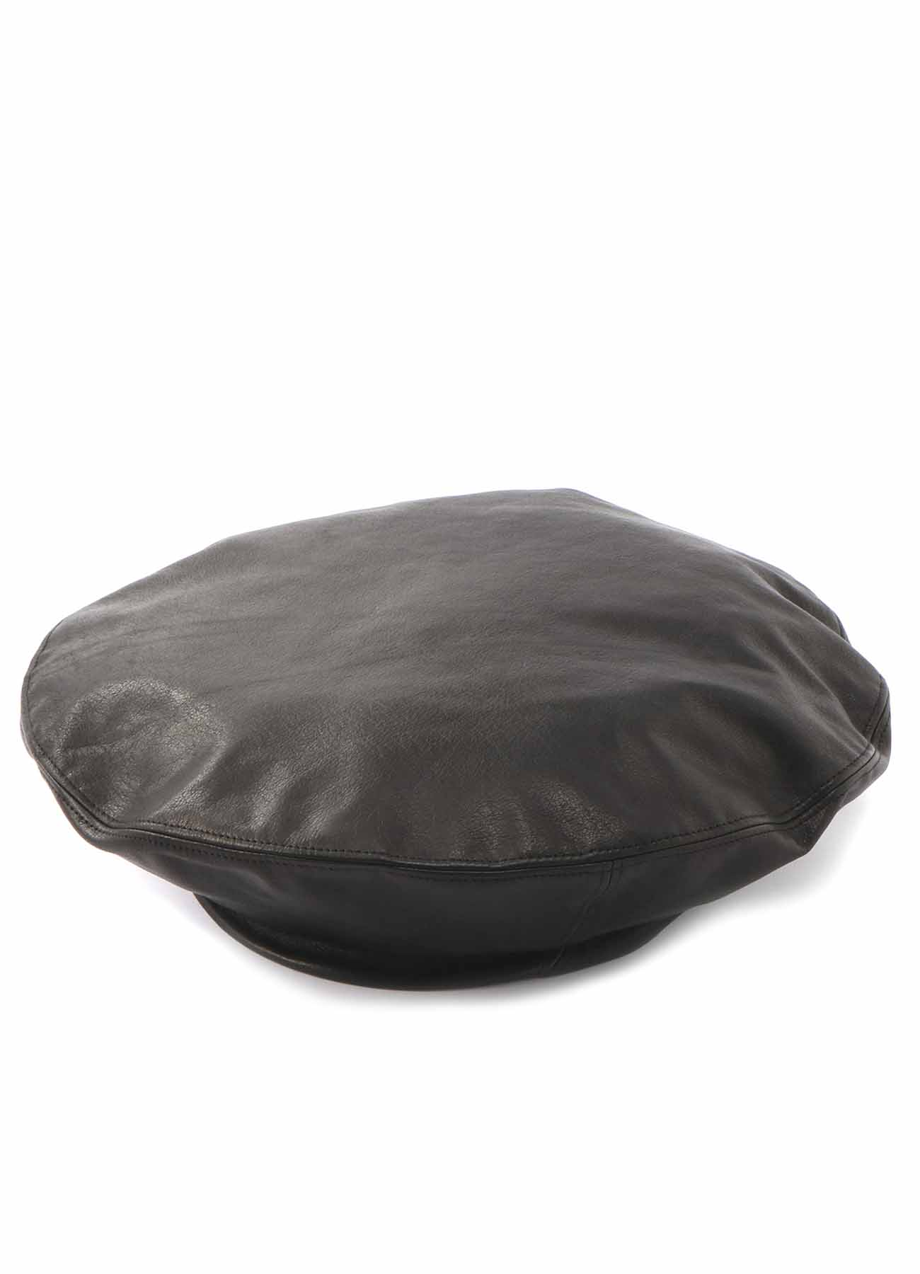 Y'sPINK 牛革 ベレー帽