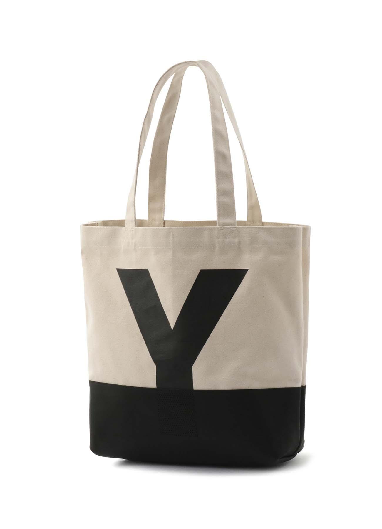 """帆布 × 牛皮 """"Y""""帆布包"""