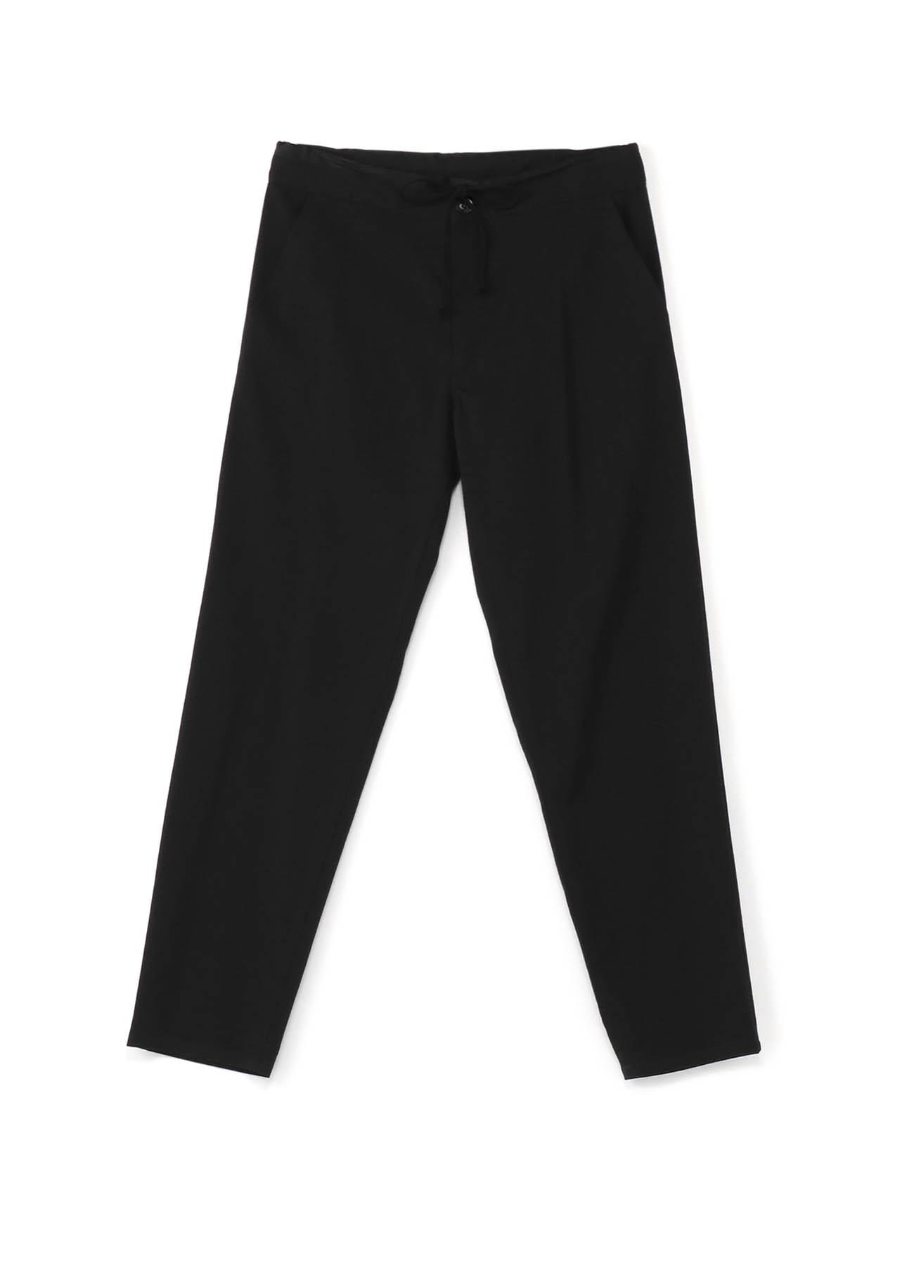 羊毛莫代尔斜纹腰围裤