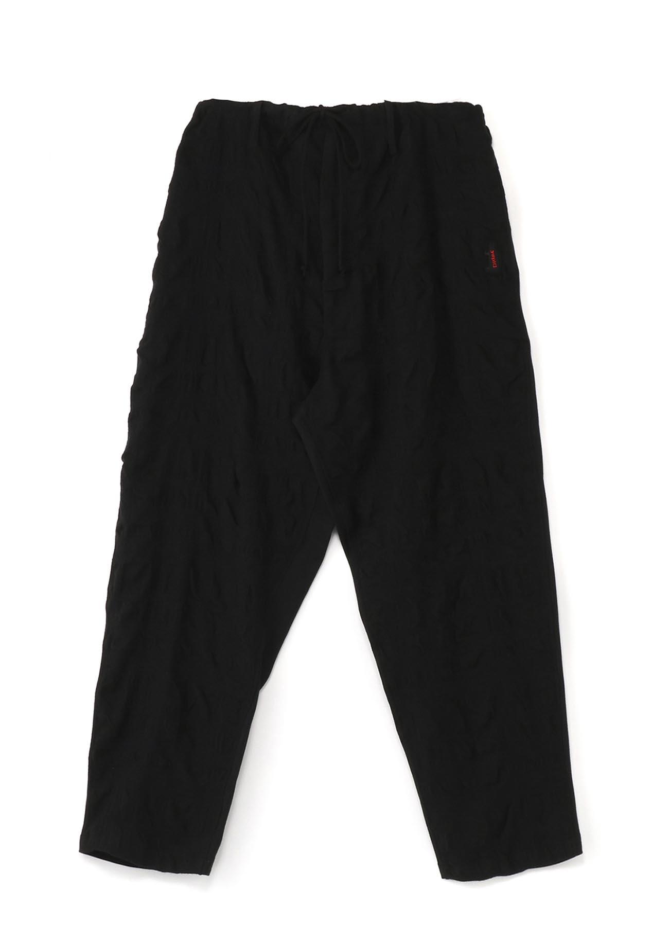 Gipsy 褶皱面料 × 纯棉面料收口裤