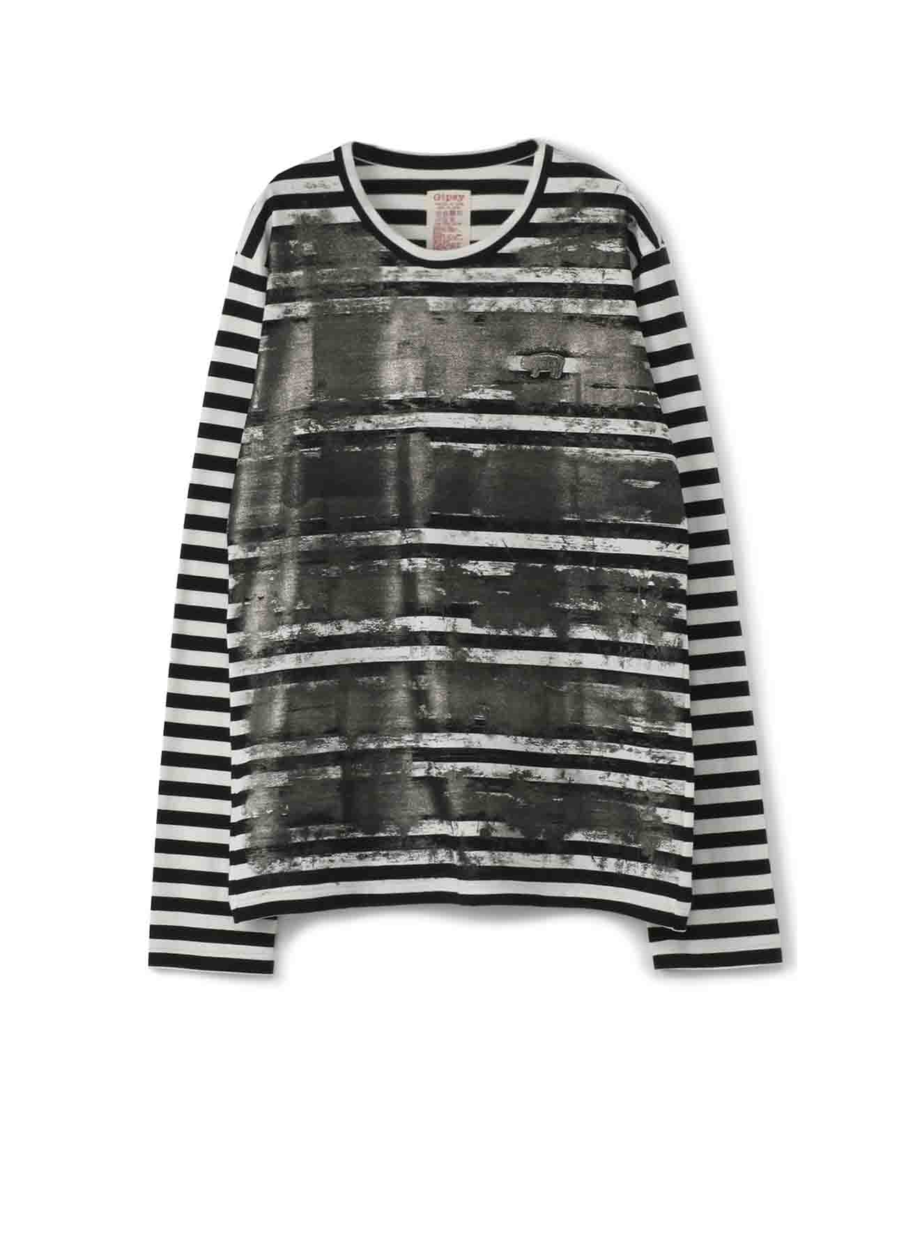 Gipsy边框Tengu BIG长袖T恤
