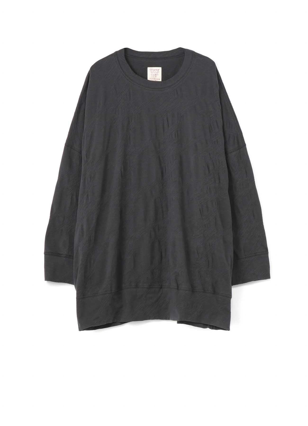 Gipsy 立体褶皱宽松长款T恤
