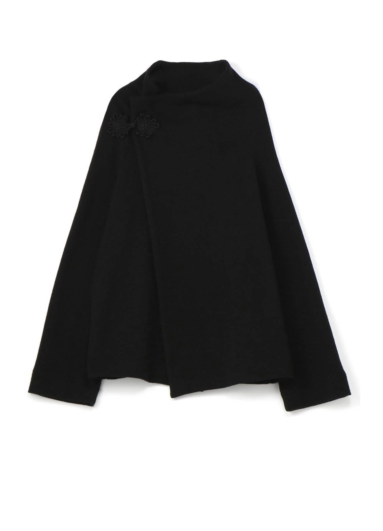 中式盘扣针织夹克