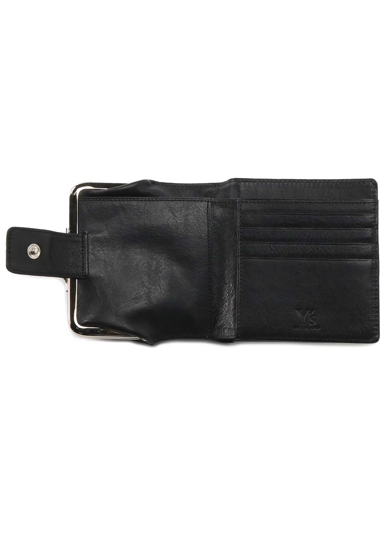 SEMI GLOSS LEATHER A CLASP WALLET S