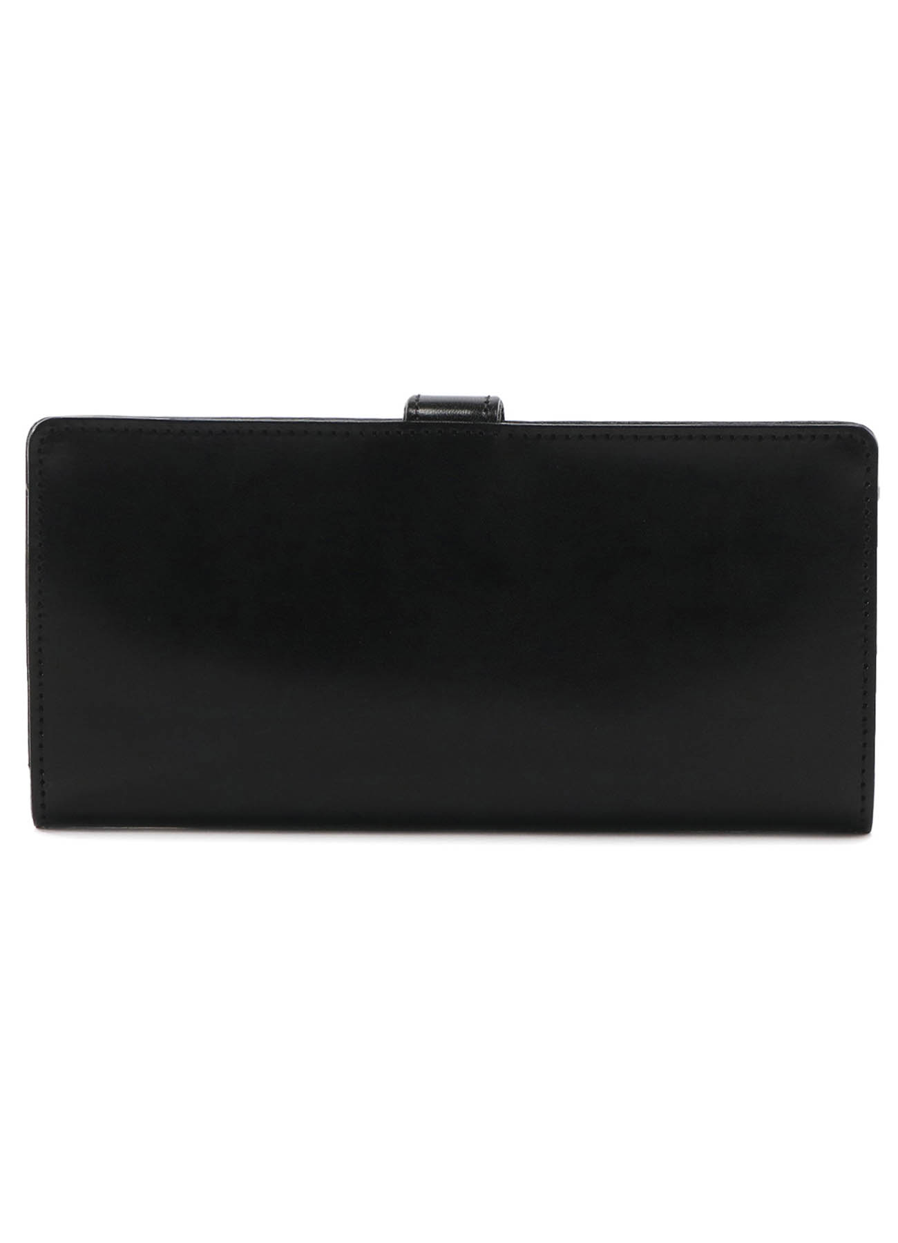 SHINING LEATHER FOLD LONG WALLET