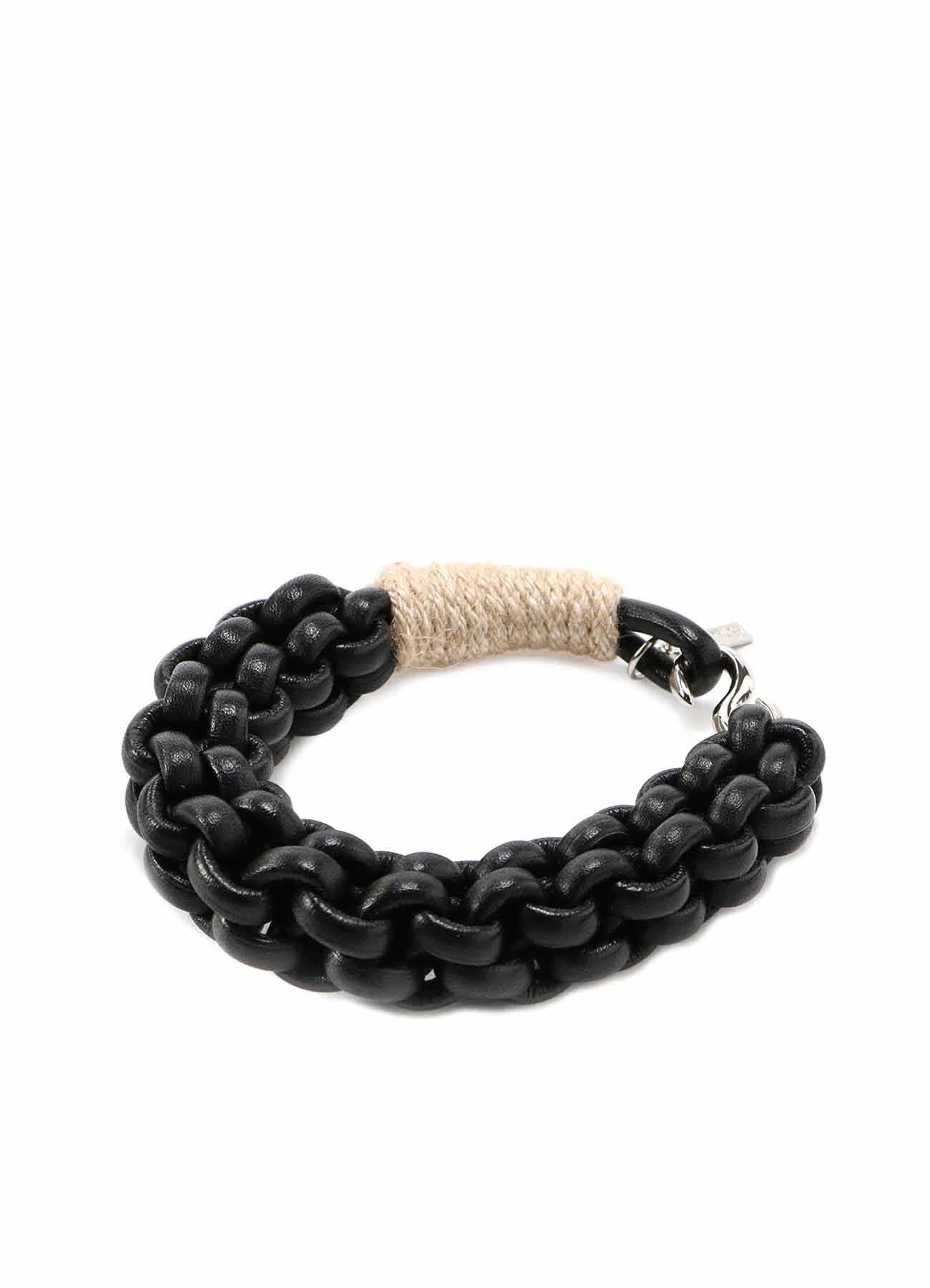 LEATHER CODE LEATHER CORD BRACELET