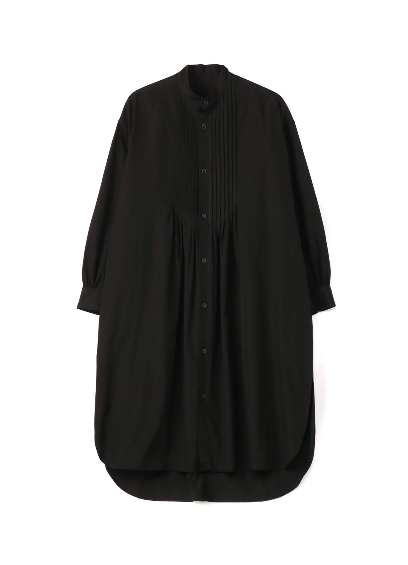100/2 BROAD PIN TUCK BLOUSE