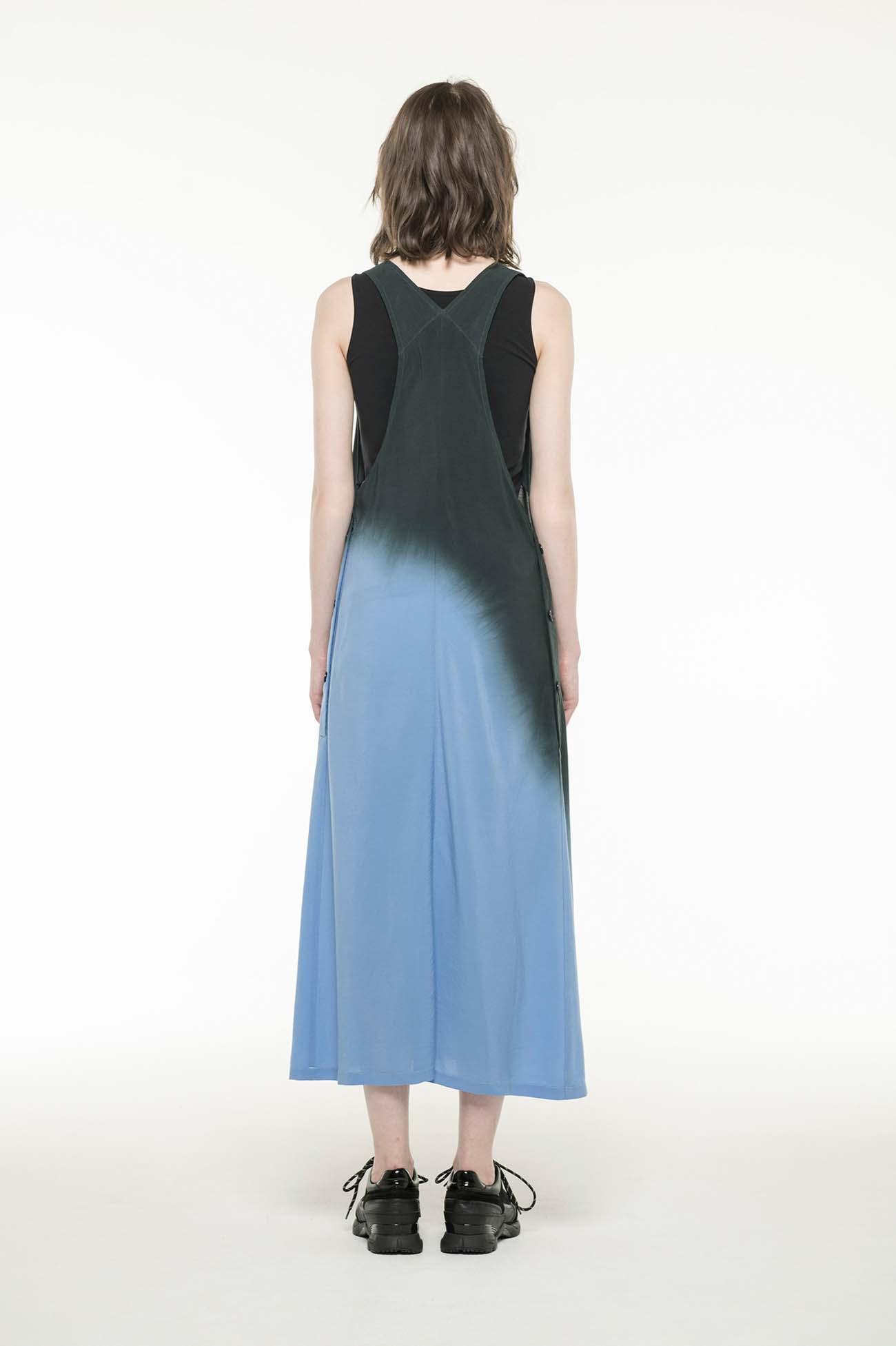 Cu/ MODAL BOYLE GD DYE JUMPSUIT DRESS