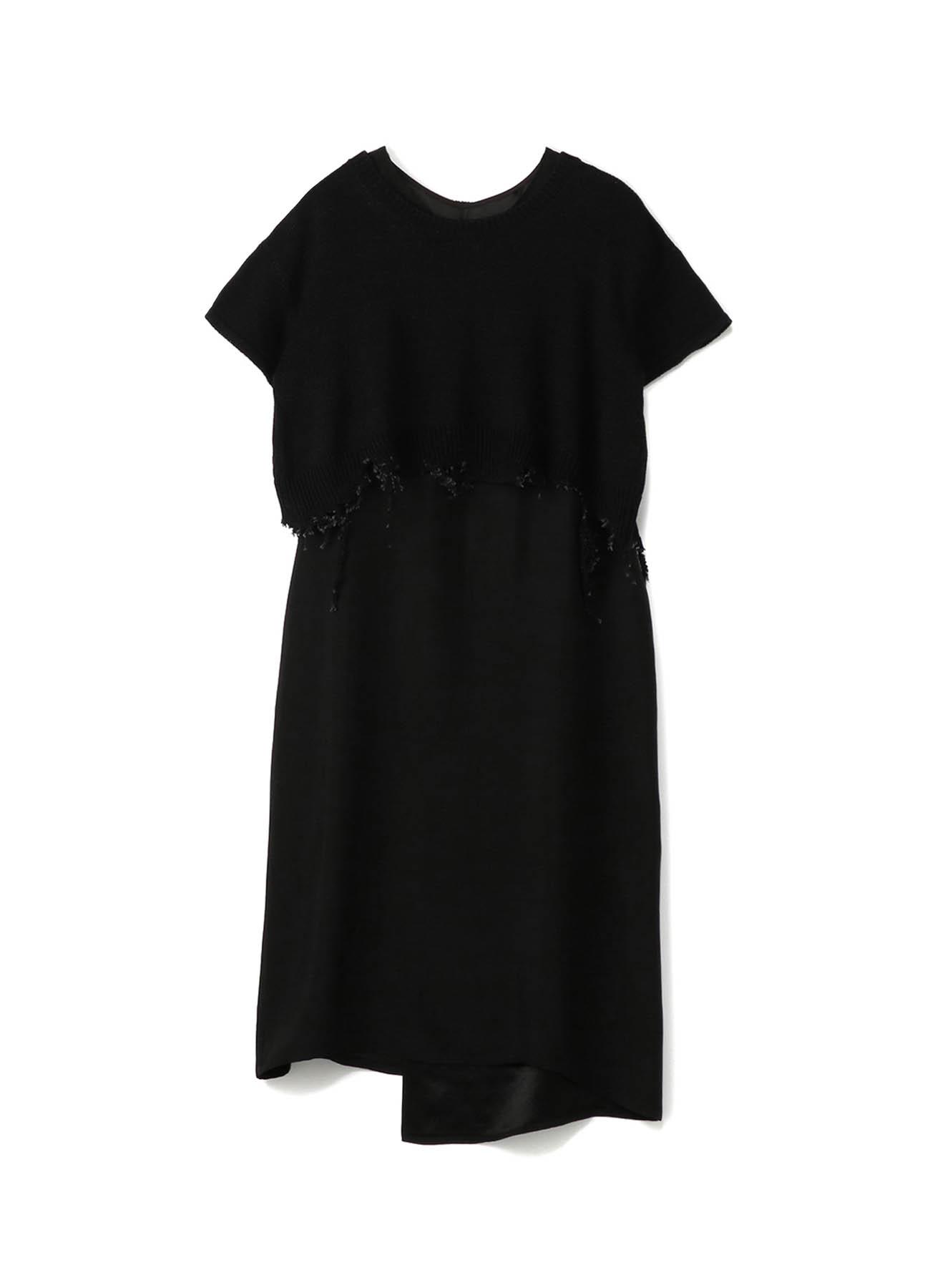 015+502 SHORT SLEEVE KNIT TOP DRESS