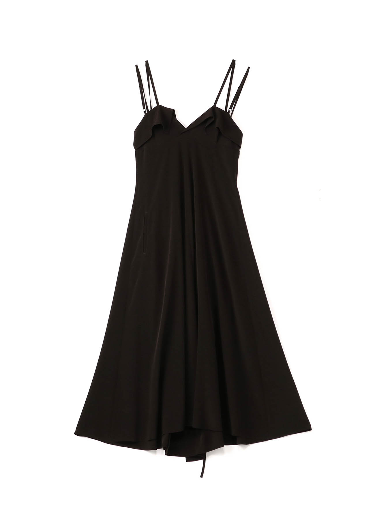 Ta/Pe de CHINE THIN STRAP DRESS