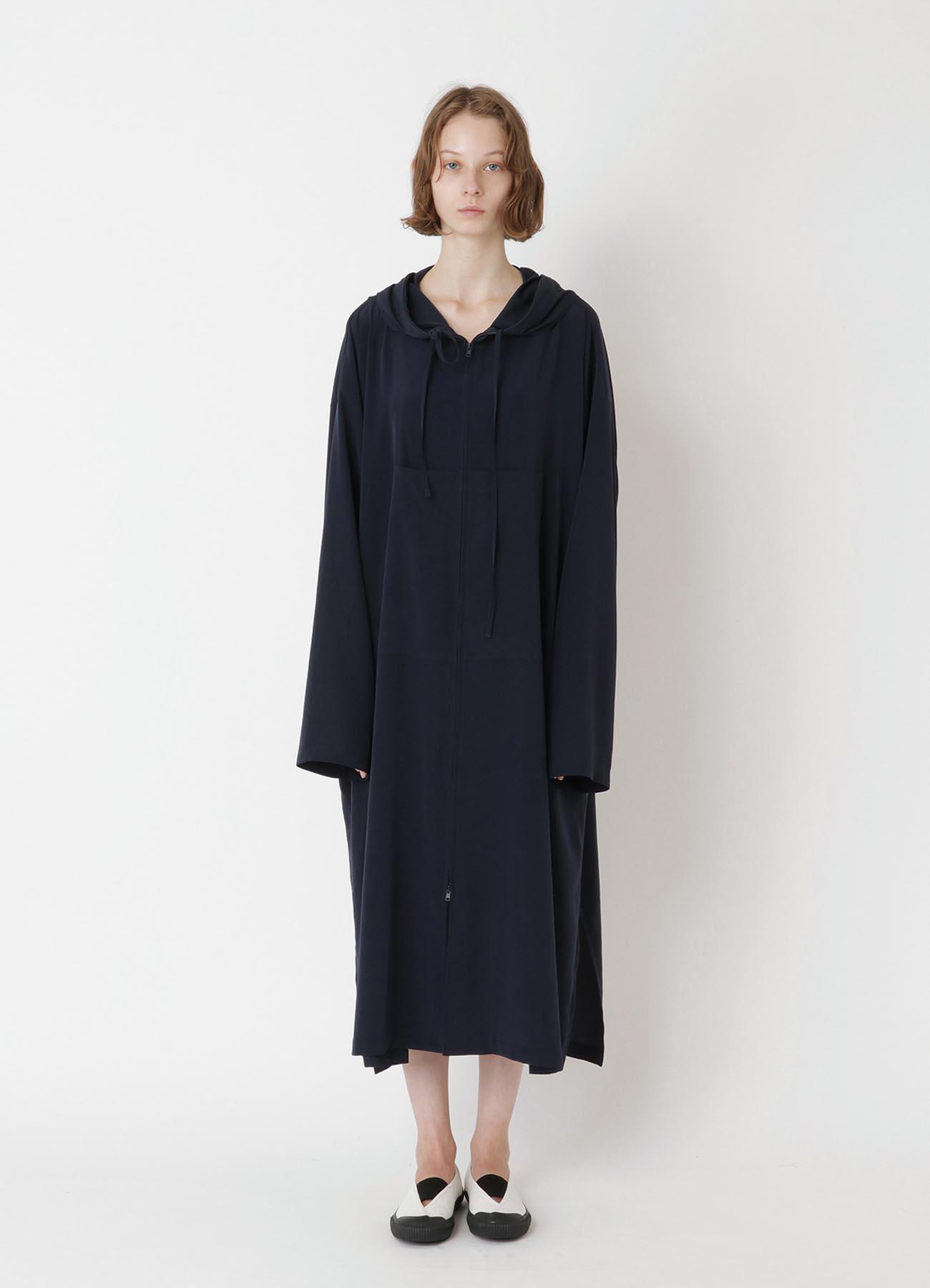 Ta/Pe de CHINE THIN PARKA DRESS